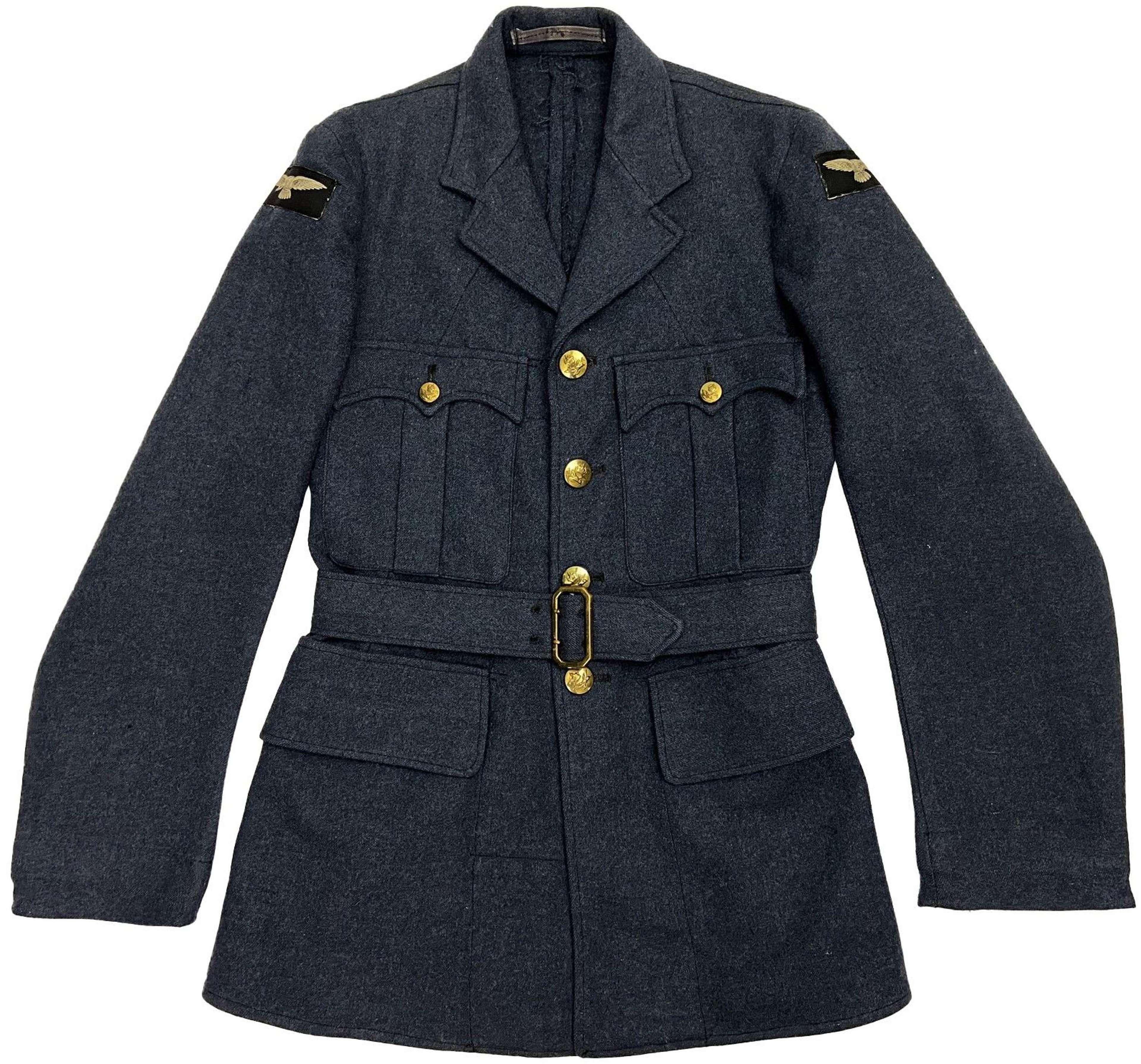 Original 1947 Dated RAF Ordinary Airman's Tunic - Size 10