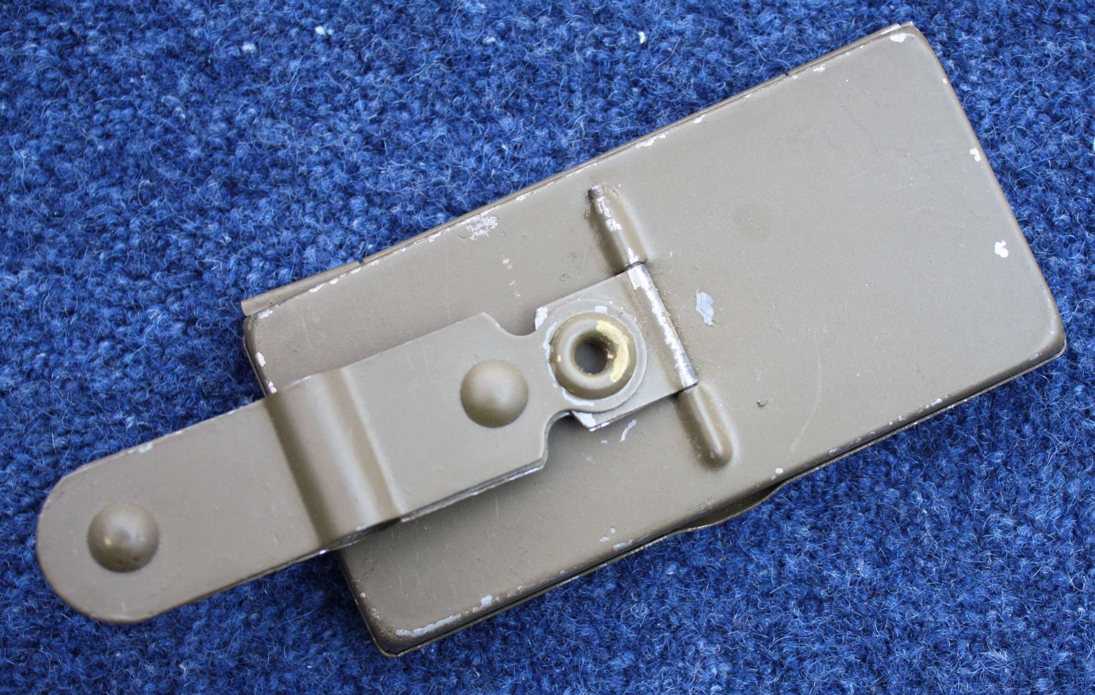WW1 British Olive Green Painted Periscope attached to Bayonet