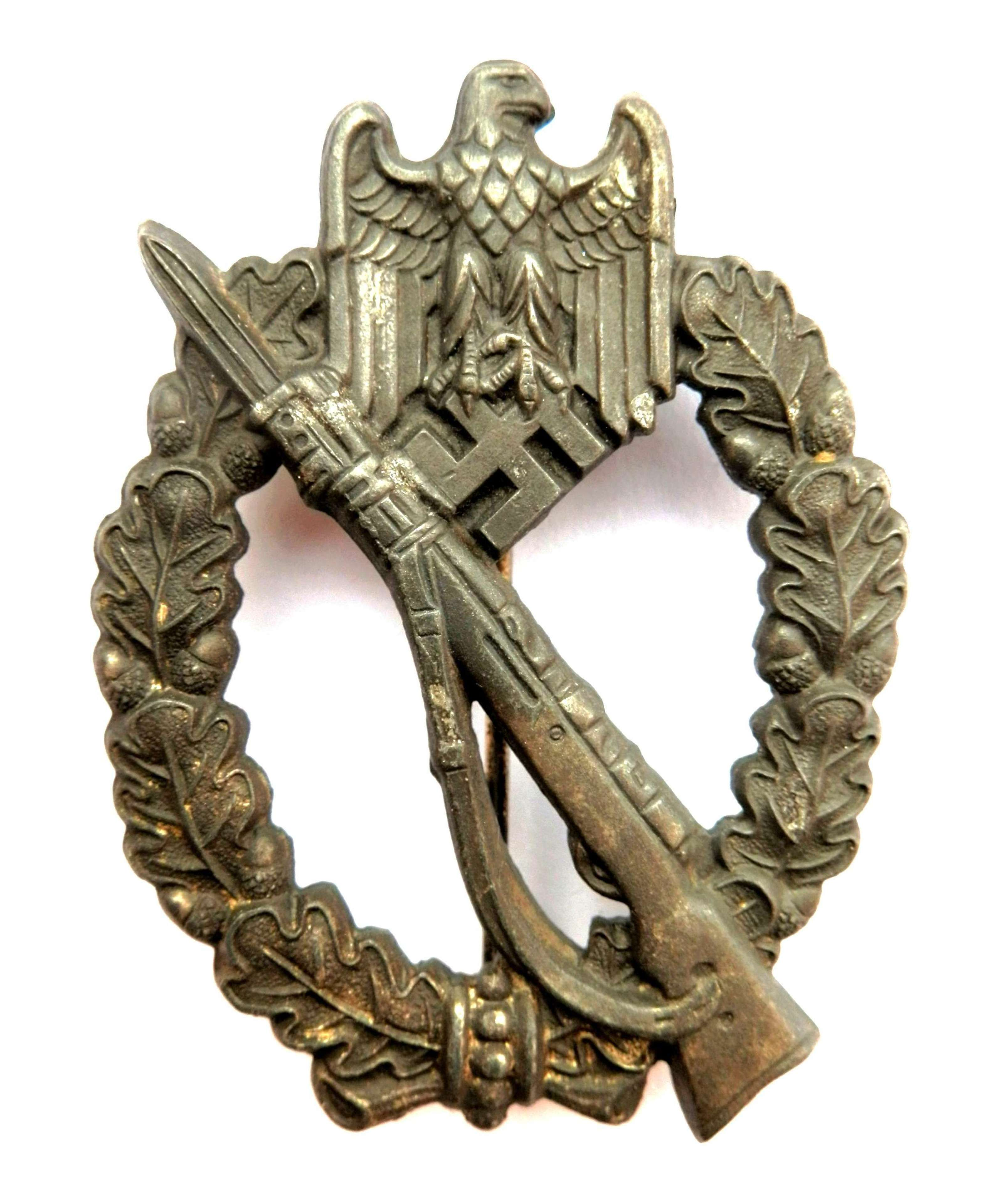 German Infantry Assault Badge. By 'R.S.', Rudolf Souval.