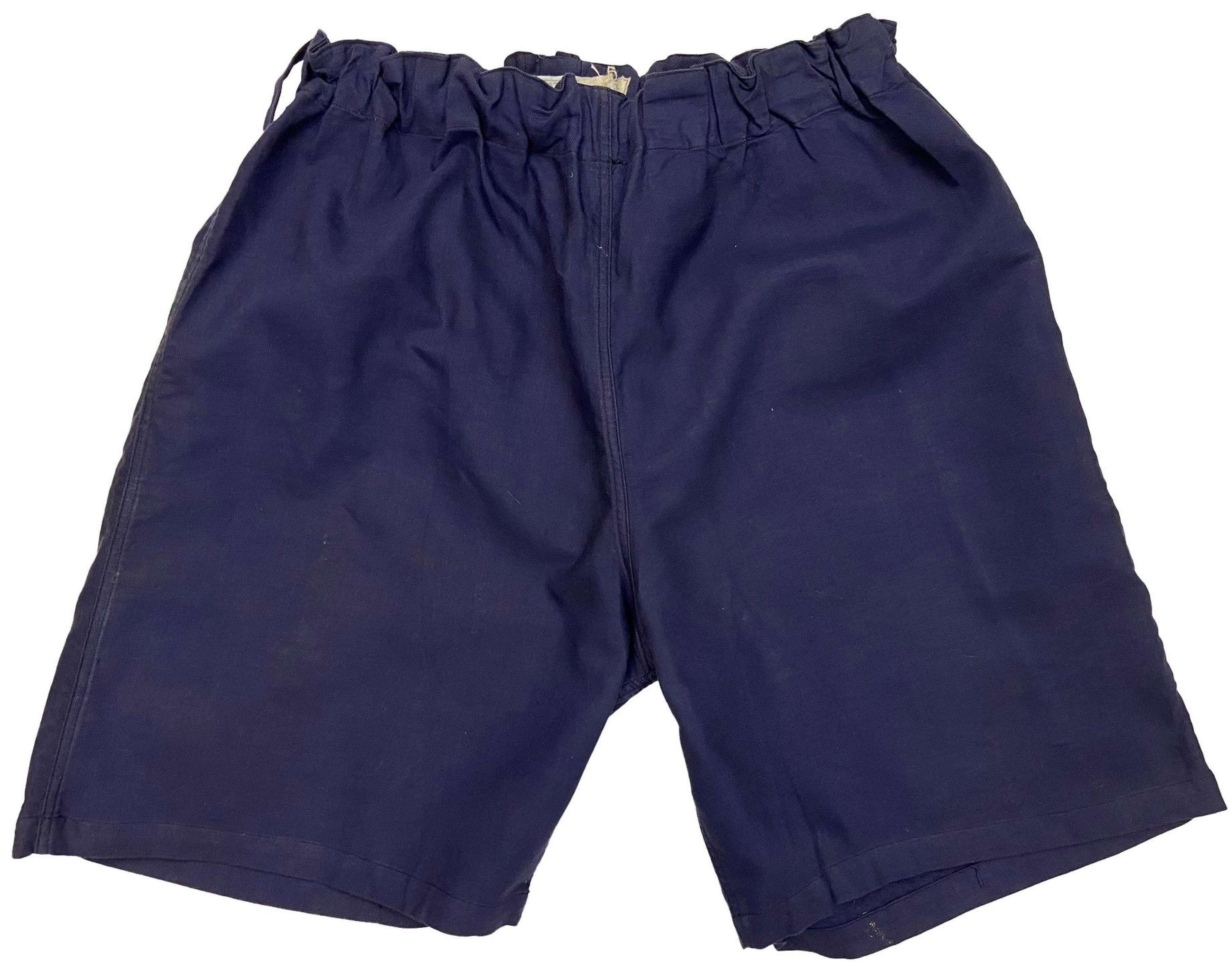 Scarce 1937 Dated RAF Physical Training Shorts (2)