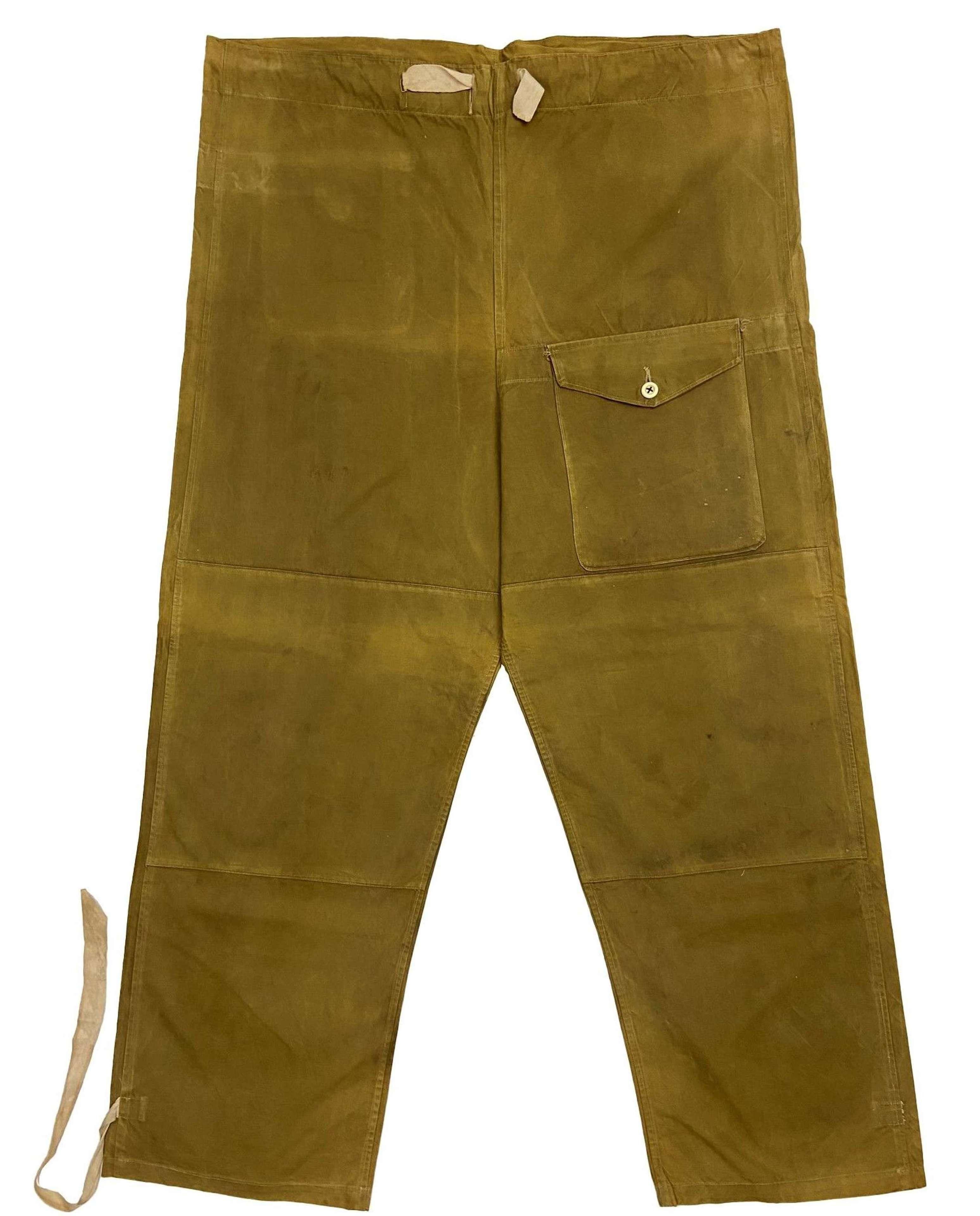 Scarce Original WW2 Trousers Windproof (Labrador Type) - Size 3