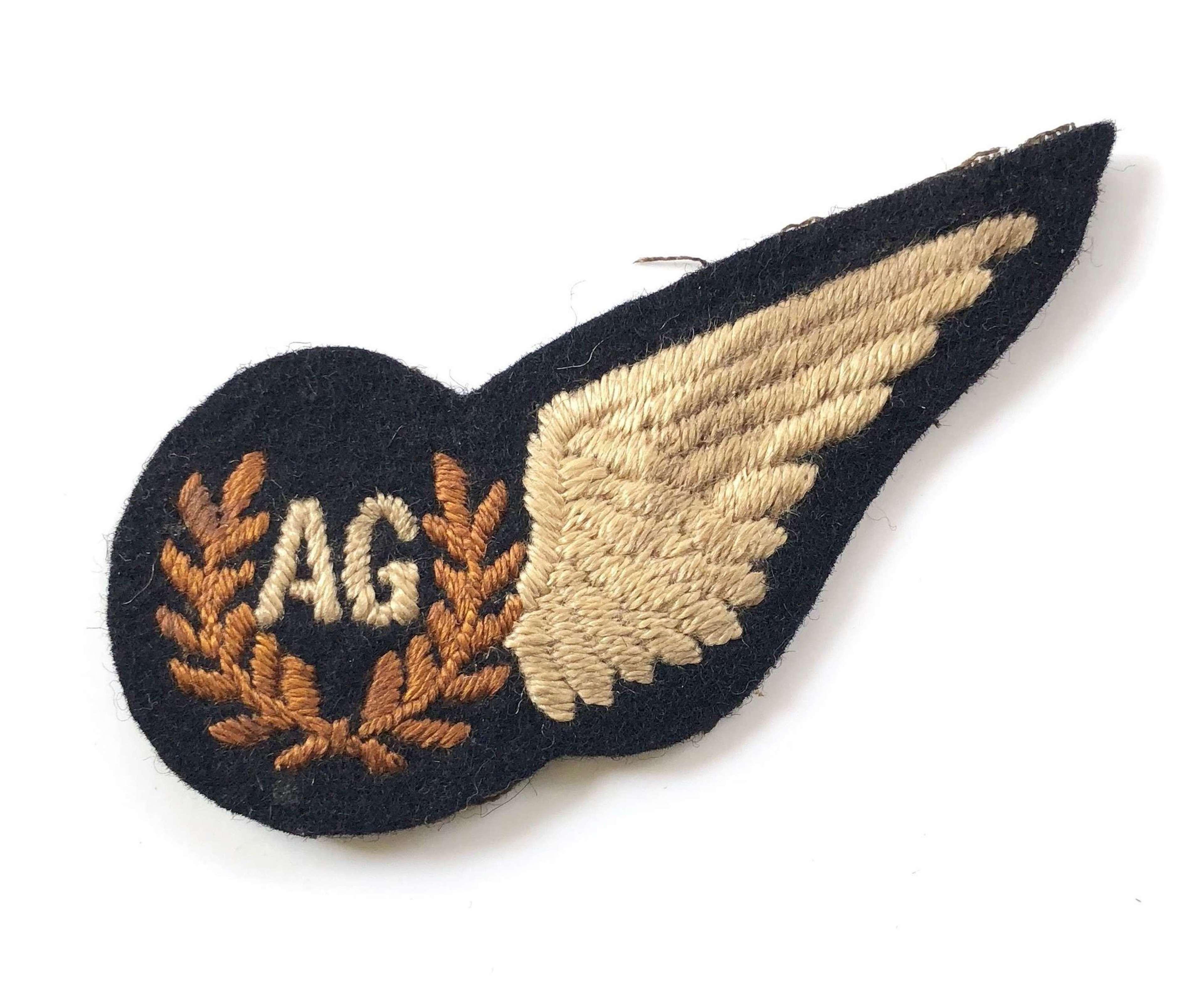 WW2 RAF Air Gunner's Brevet Badge.