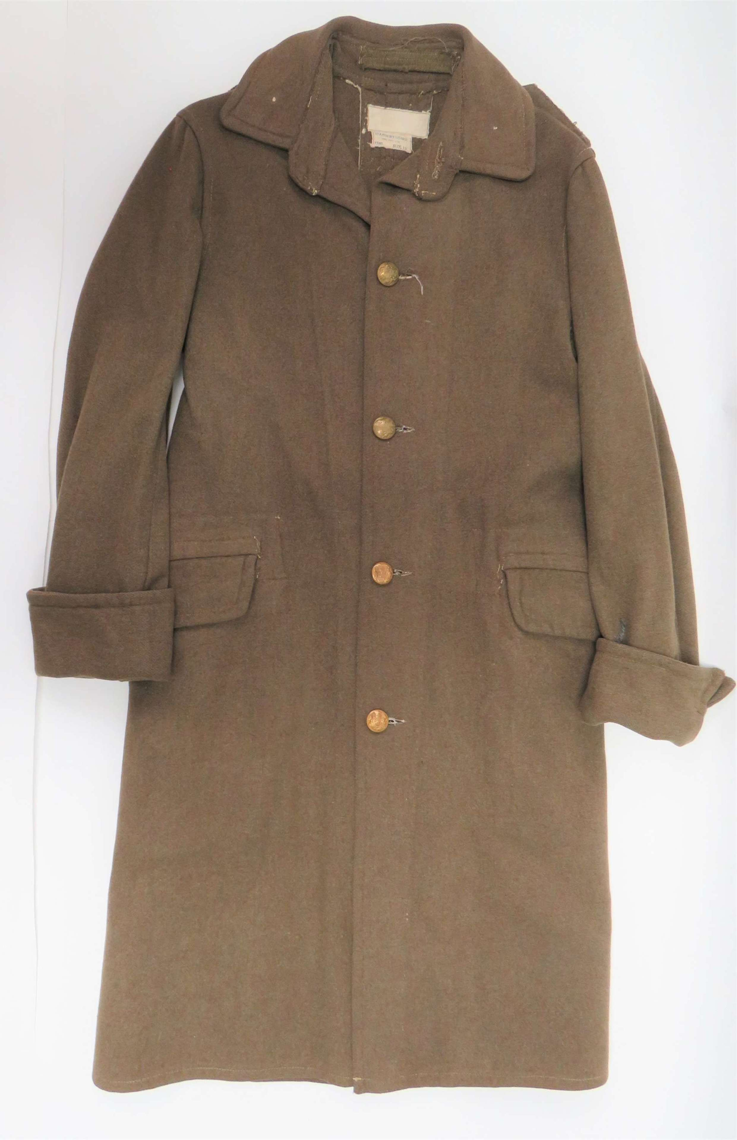 Rare 1940 Dated Battle of France Other Ranks Greatcoat