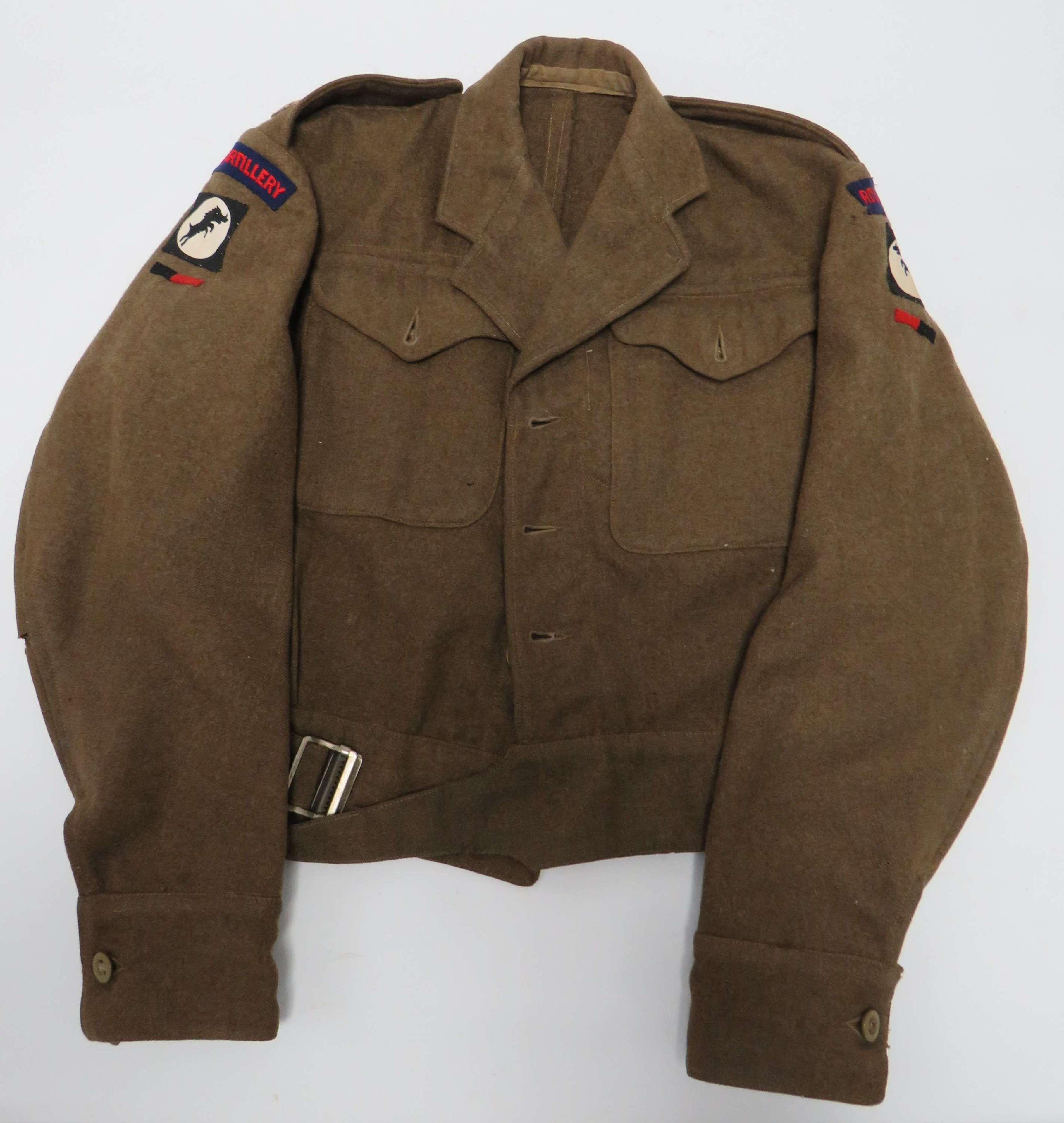 30 Corps Royal Artillery Officers 1940 Pattern Battledress Jacket