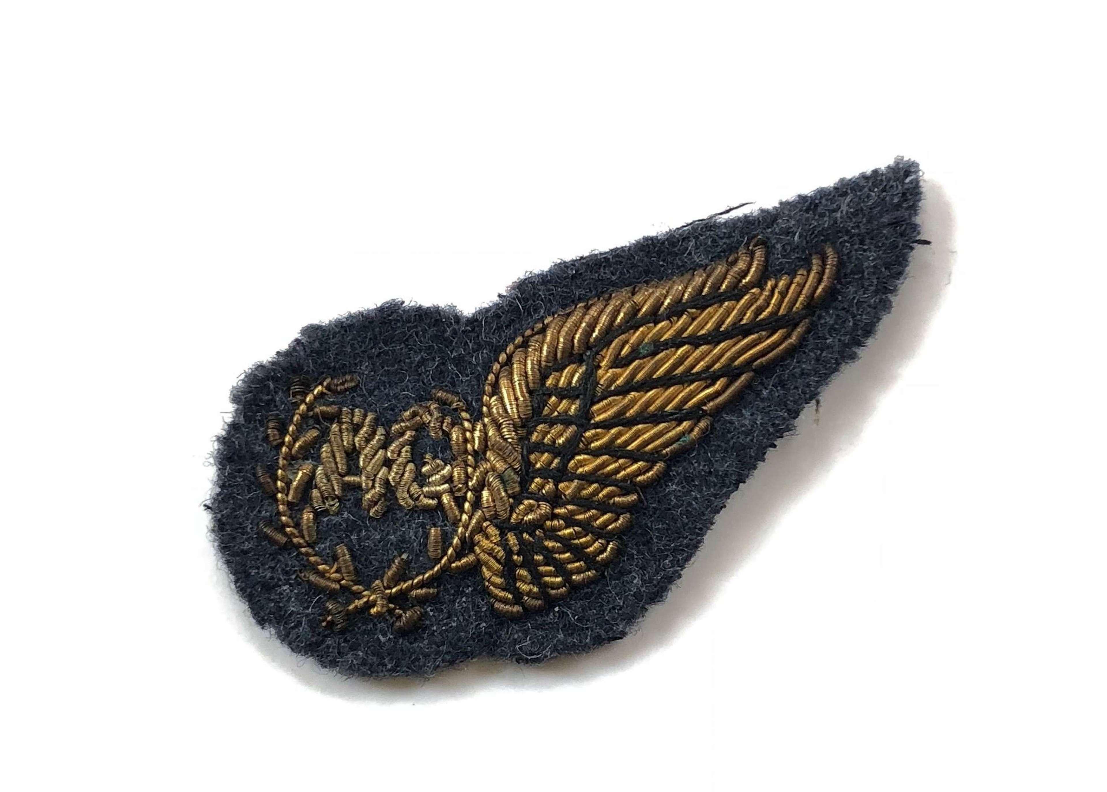 RAF Air Gunner's Mess Dress Brevet Badge.