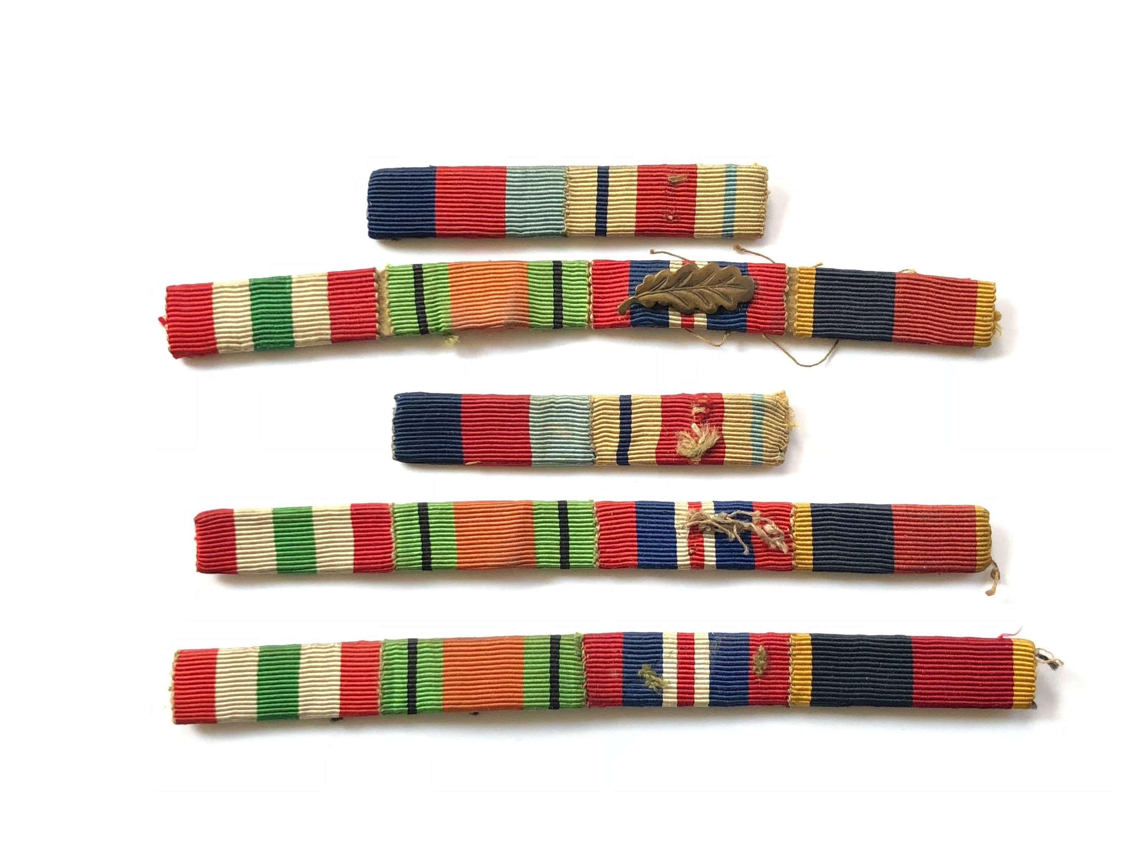 Honourable Artillery Company Uniform MID Medal Ribbons.