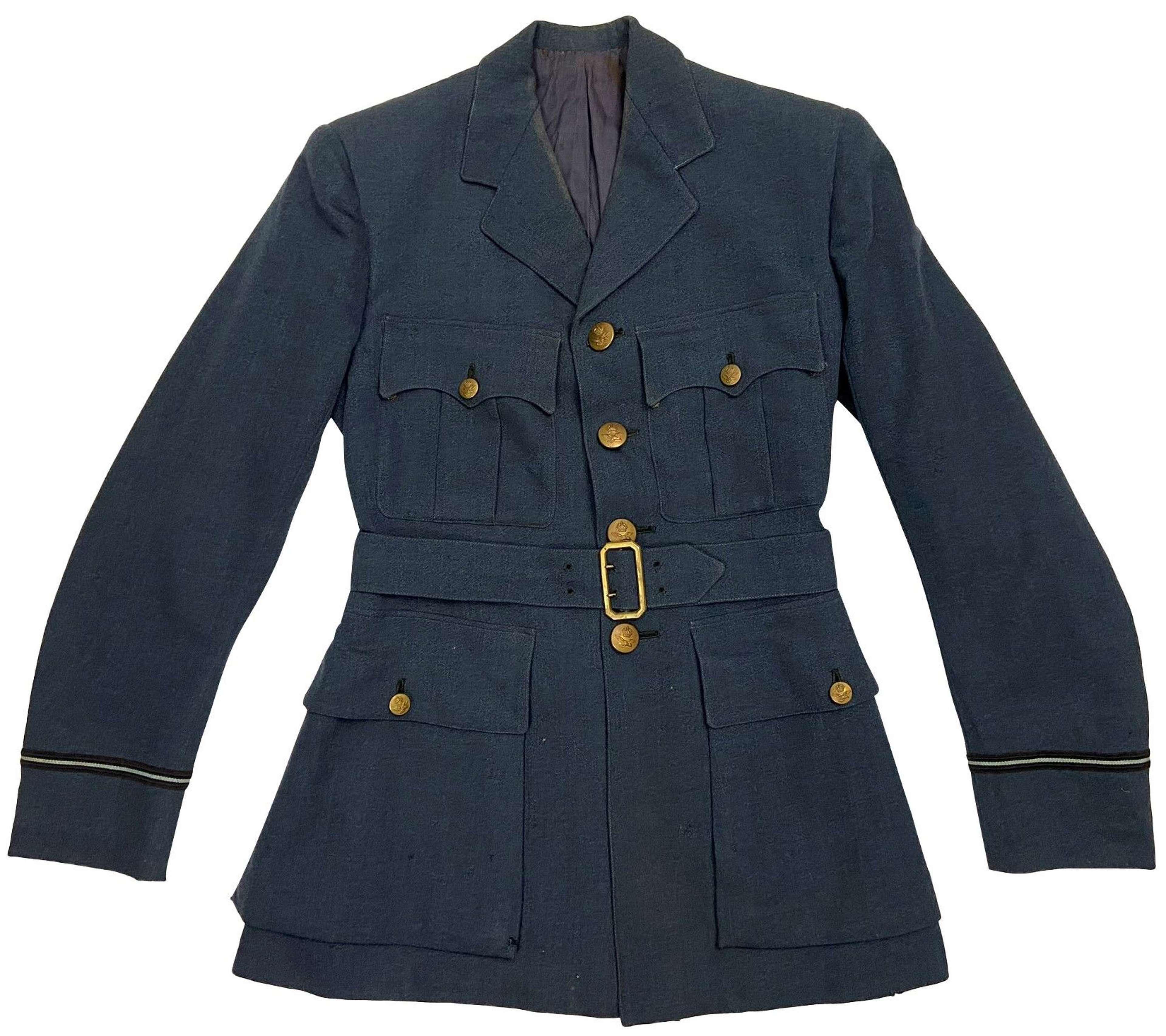 Original 1944 Dated RAF Officers Service Dress Jacket - G. Newton