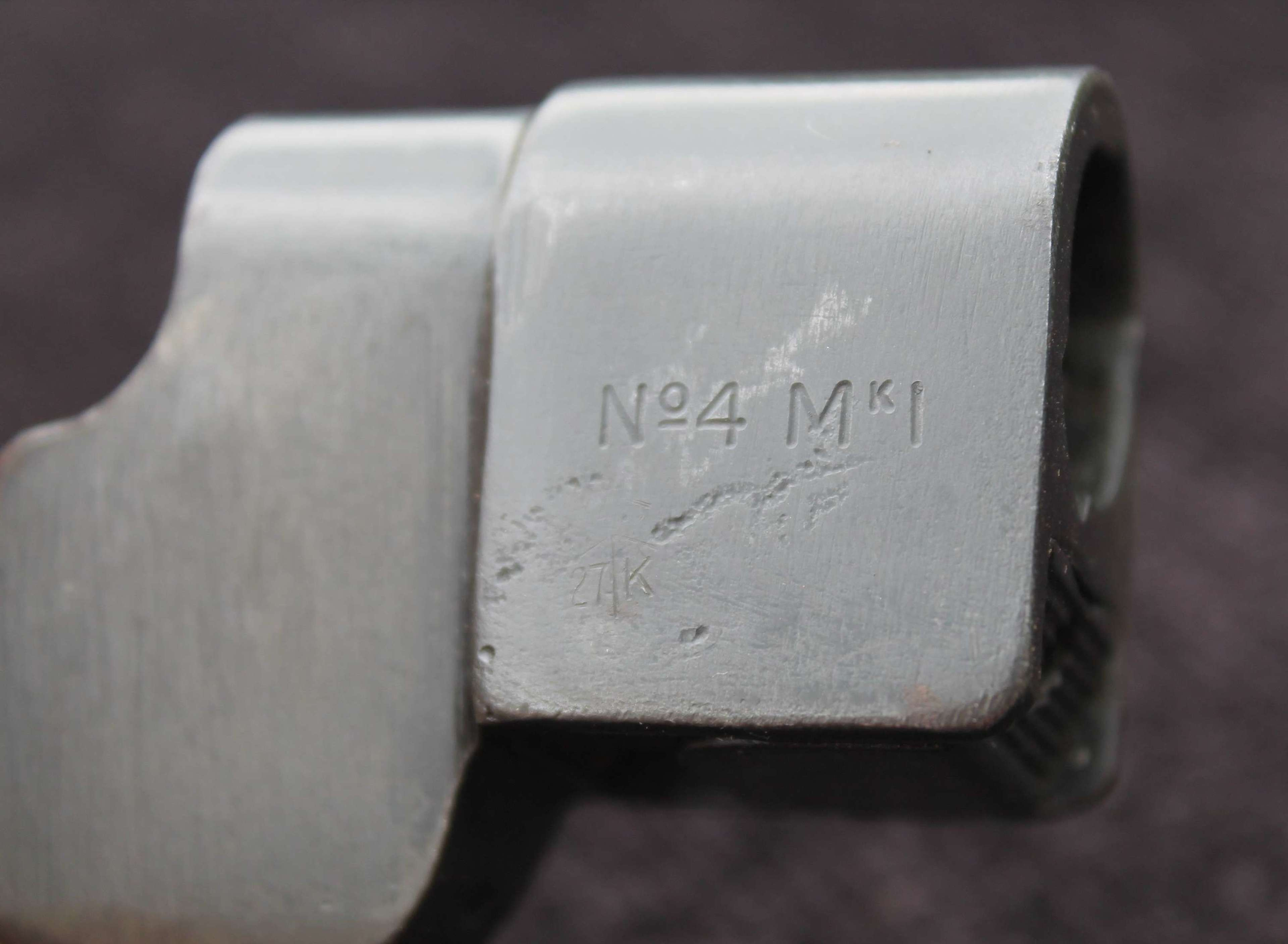 Scarce POST War Refurbished No4 Mk1 Cruciform Spike Bayonet