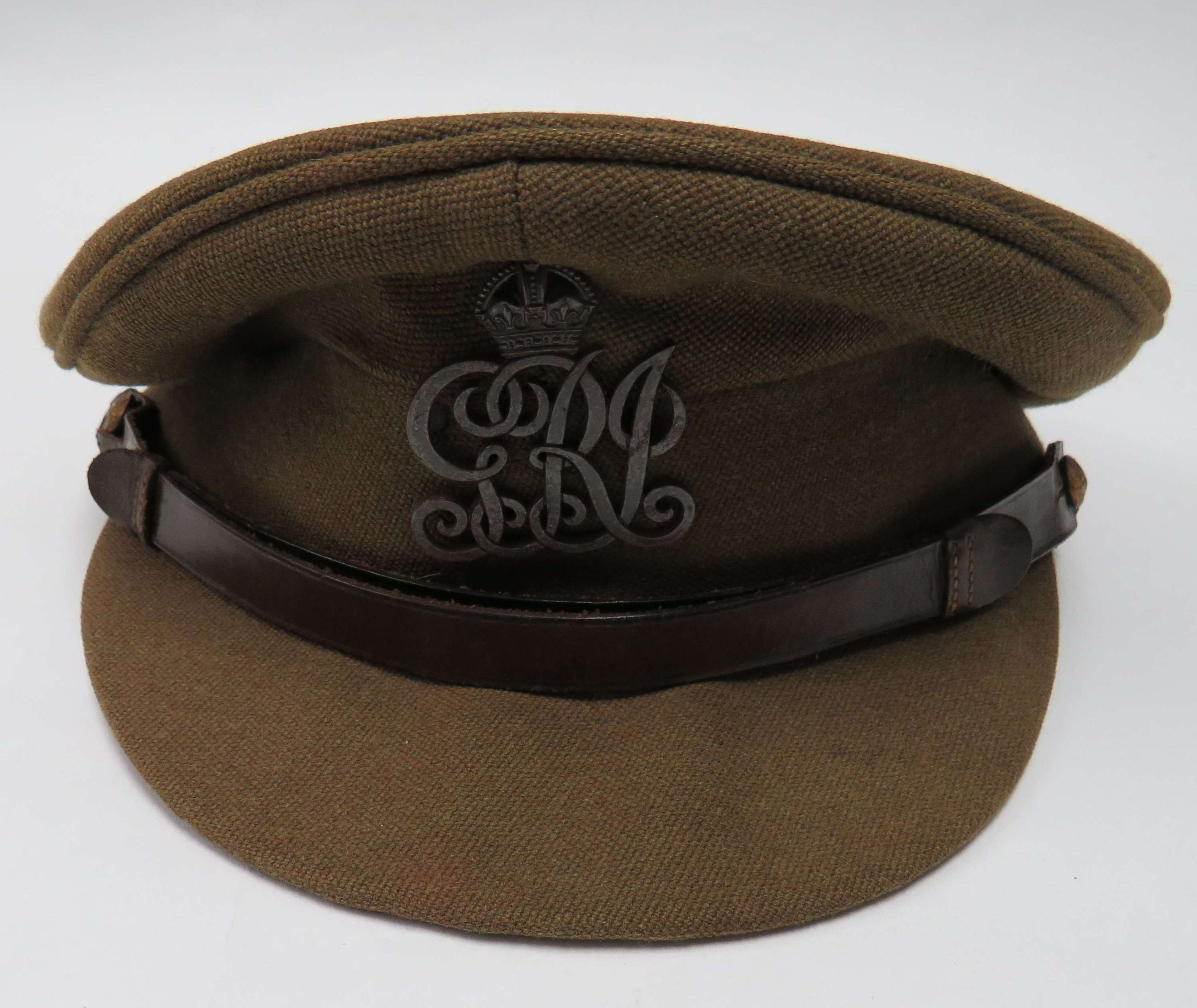 WW2 Indian Army Officers Service Dress Cap