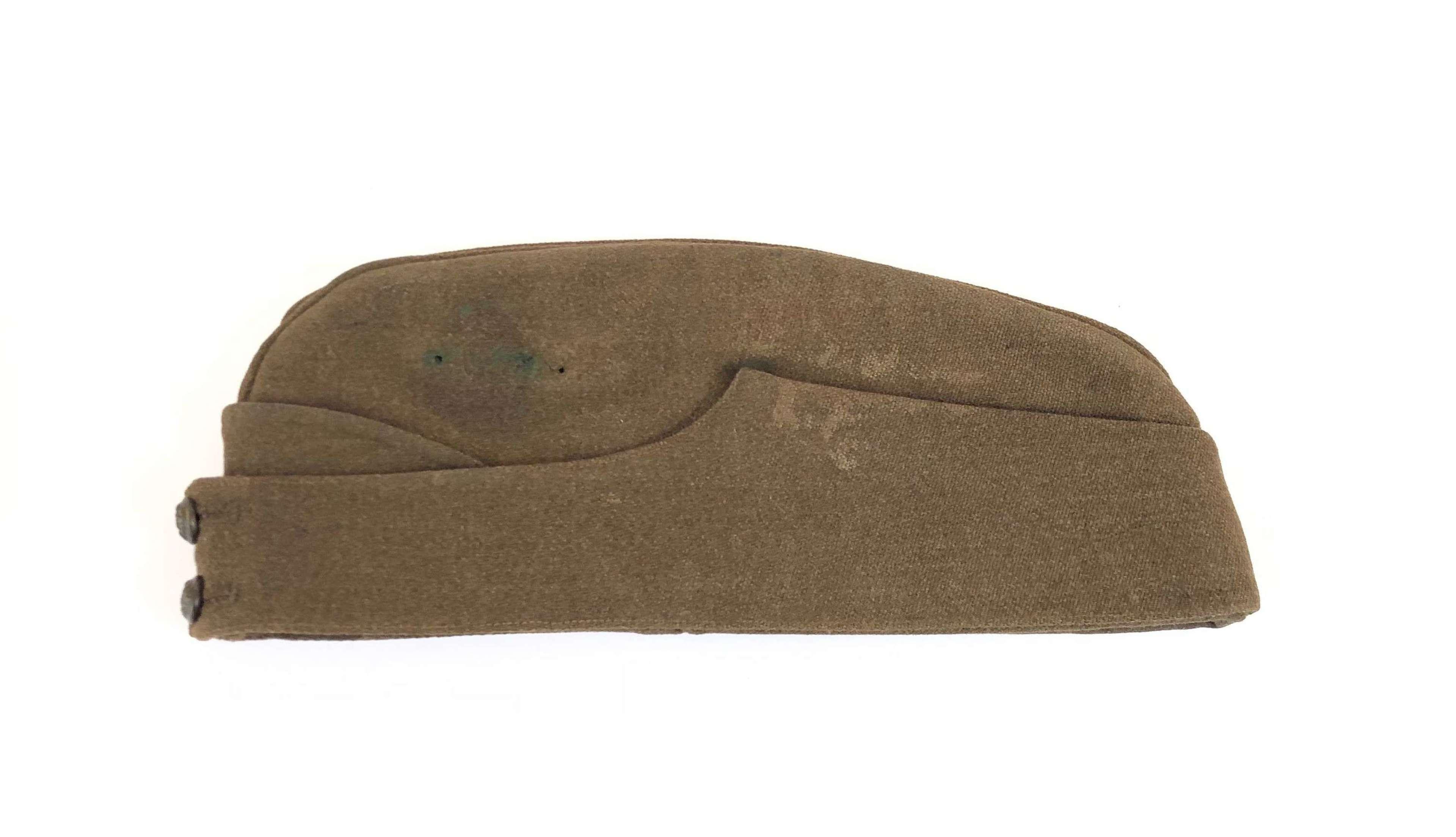 WW2 Period British Officer's Side Cap.