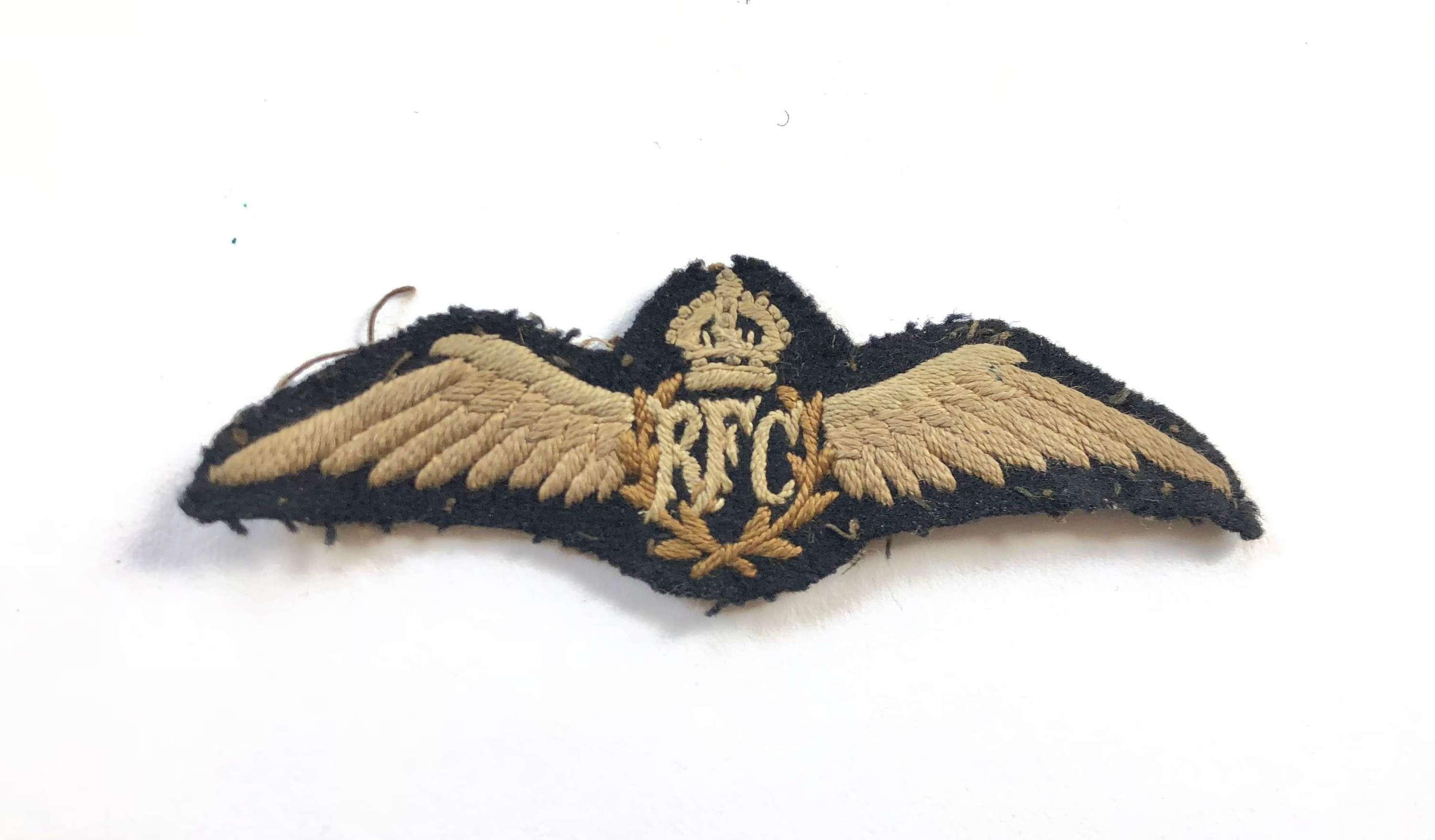 WW1 Royal Flying Corps RFC Pilot Wings