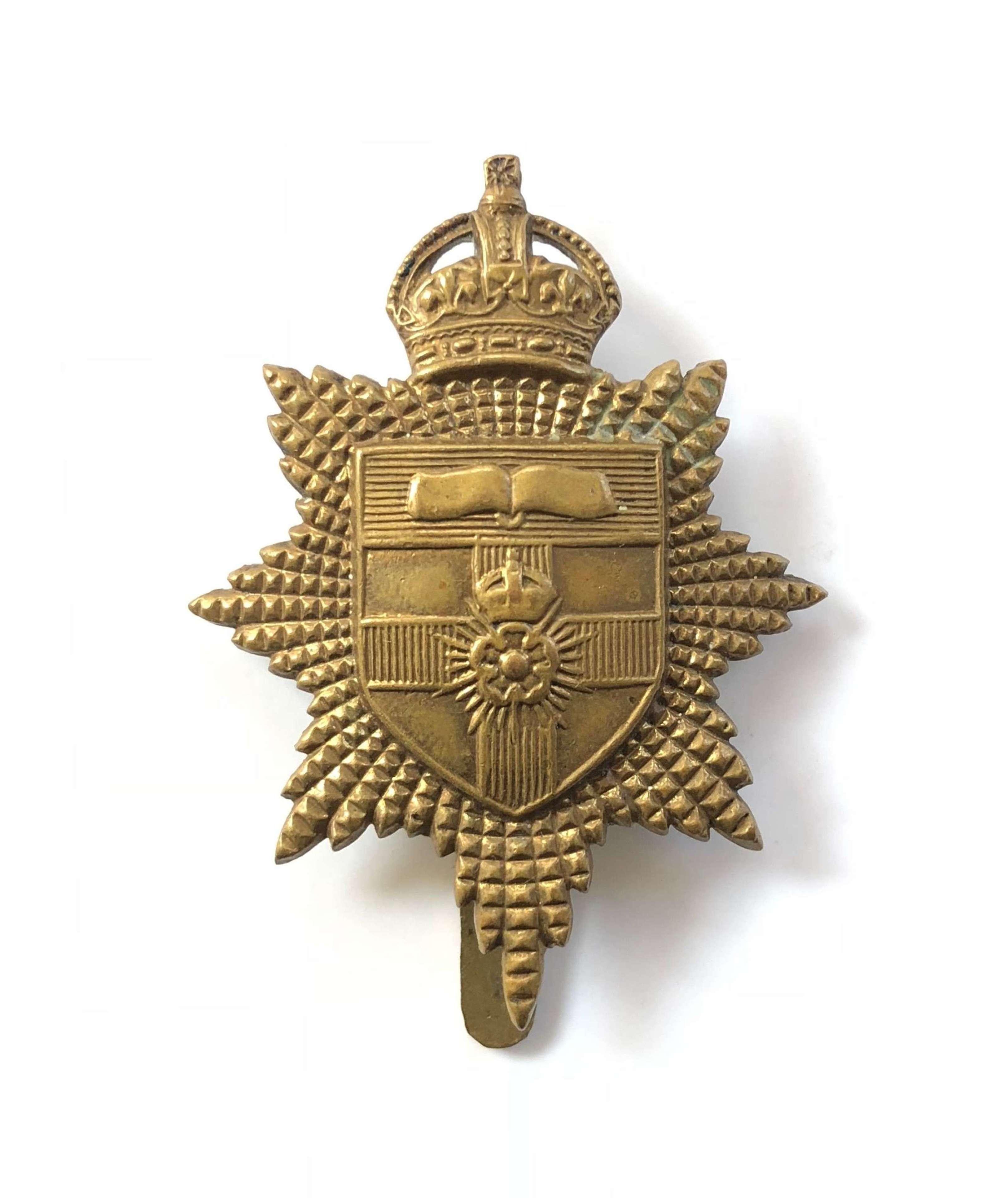 University of London OTC Cap Badge.