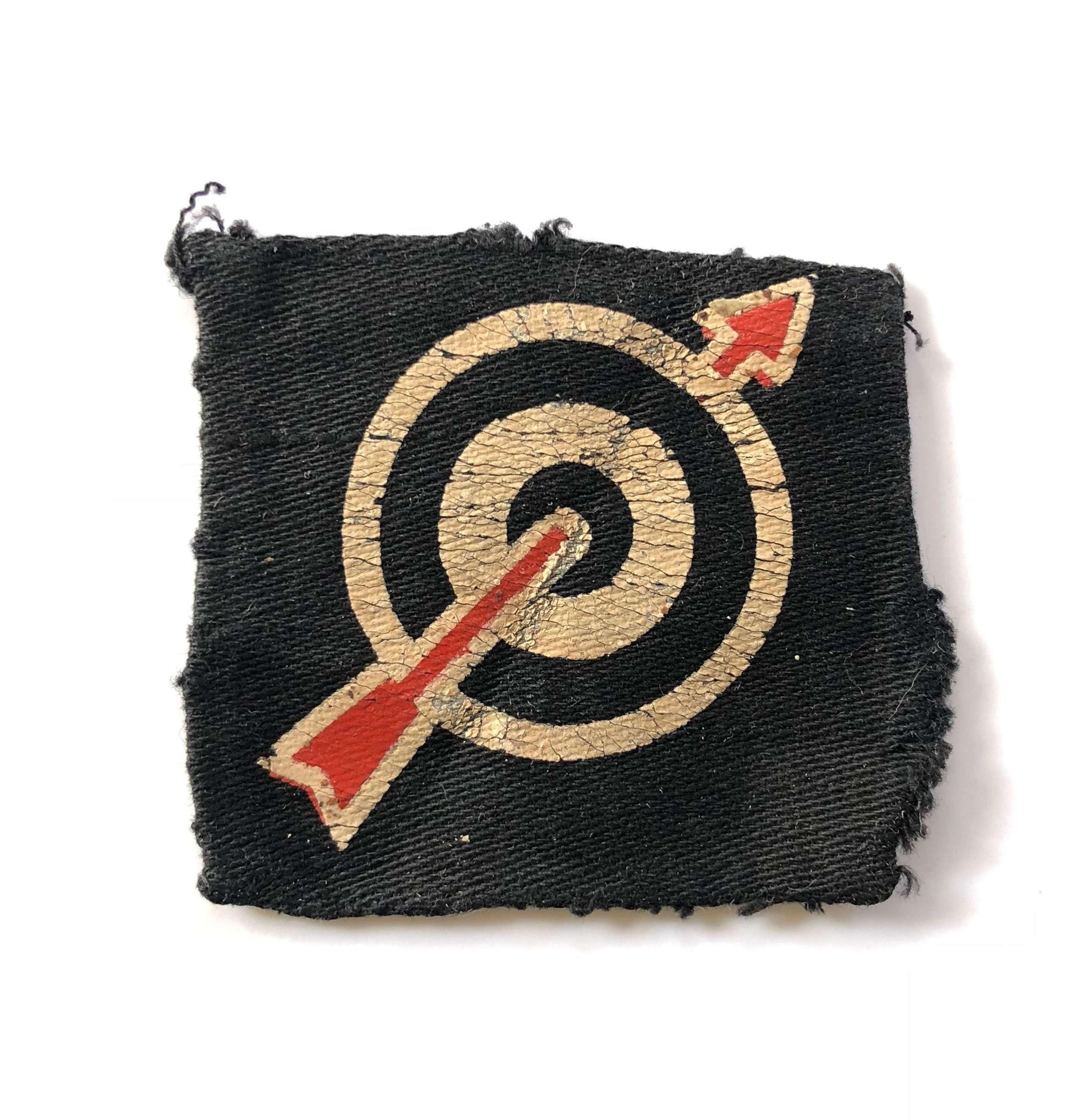 WW2 6th Anti-Aircraft Formation Printed Badge.