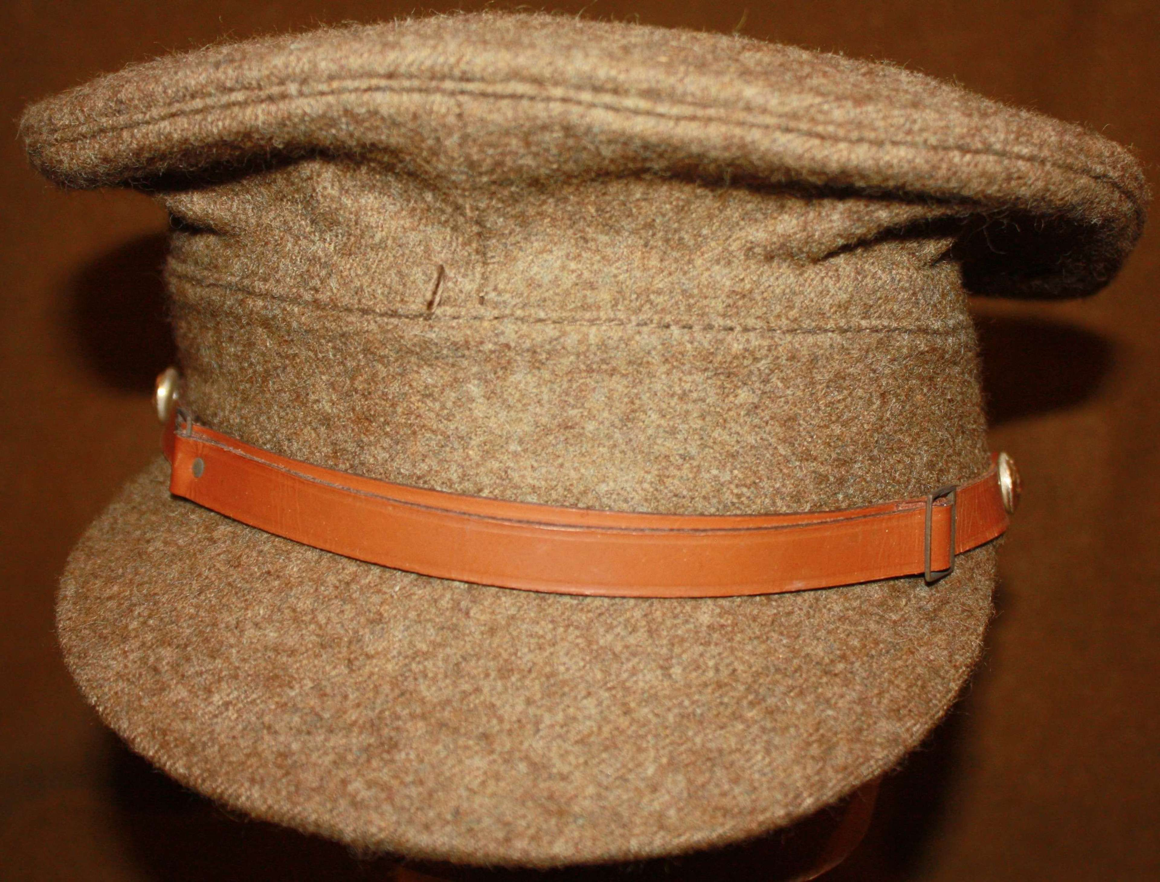 A VERY GOOD 1966 DATED 22 PATTERN OTHER RANKS CAP