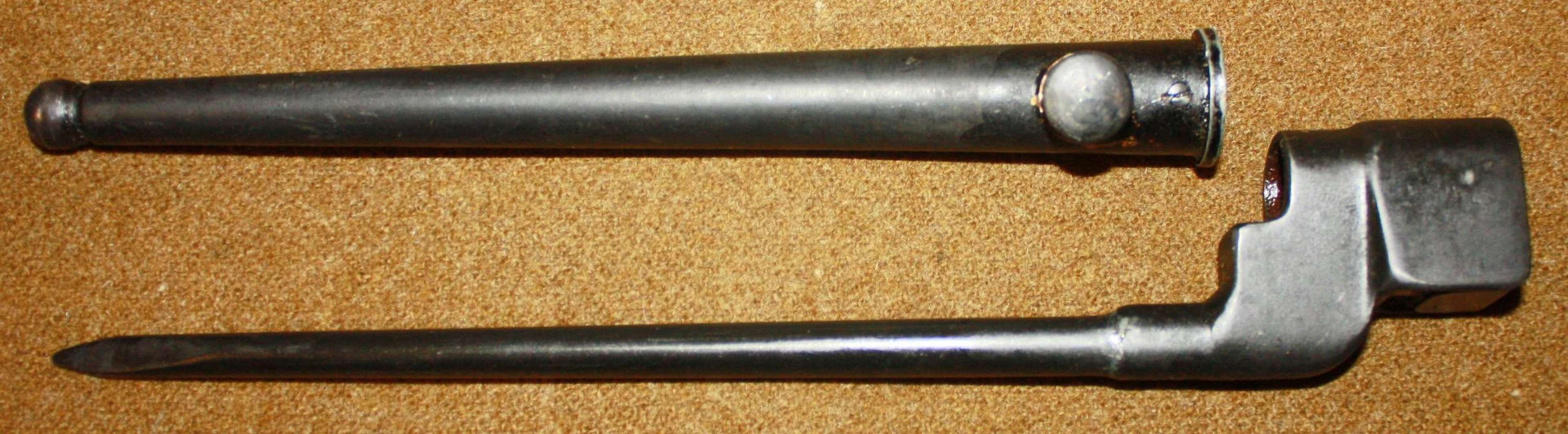 A VERY GOOD WWII NO4 MKII BAYONET VERY CLEAN AND TIDY EXAMPLE