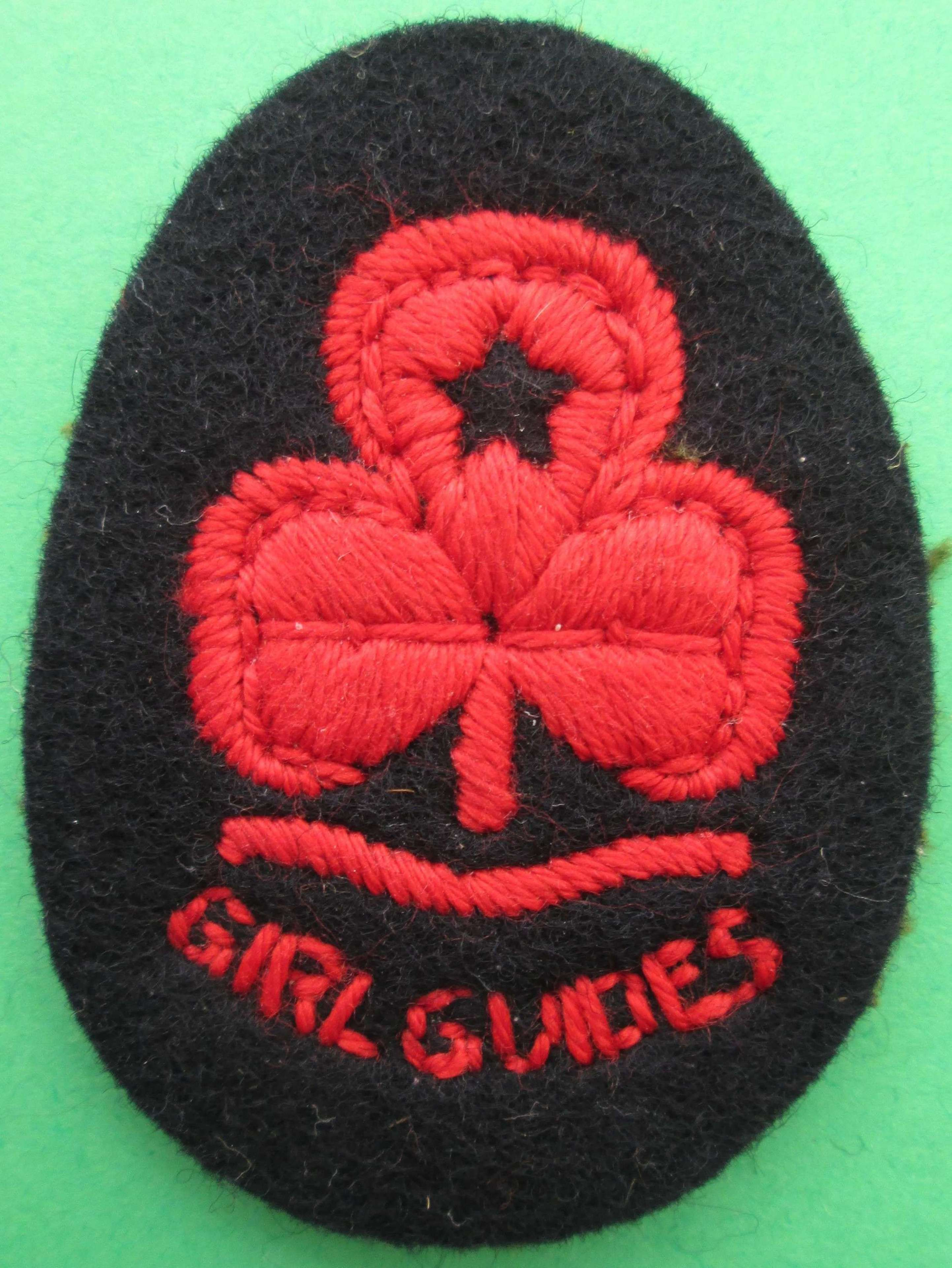 A GIRL GUIDES PATCH