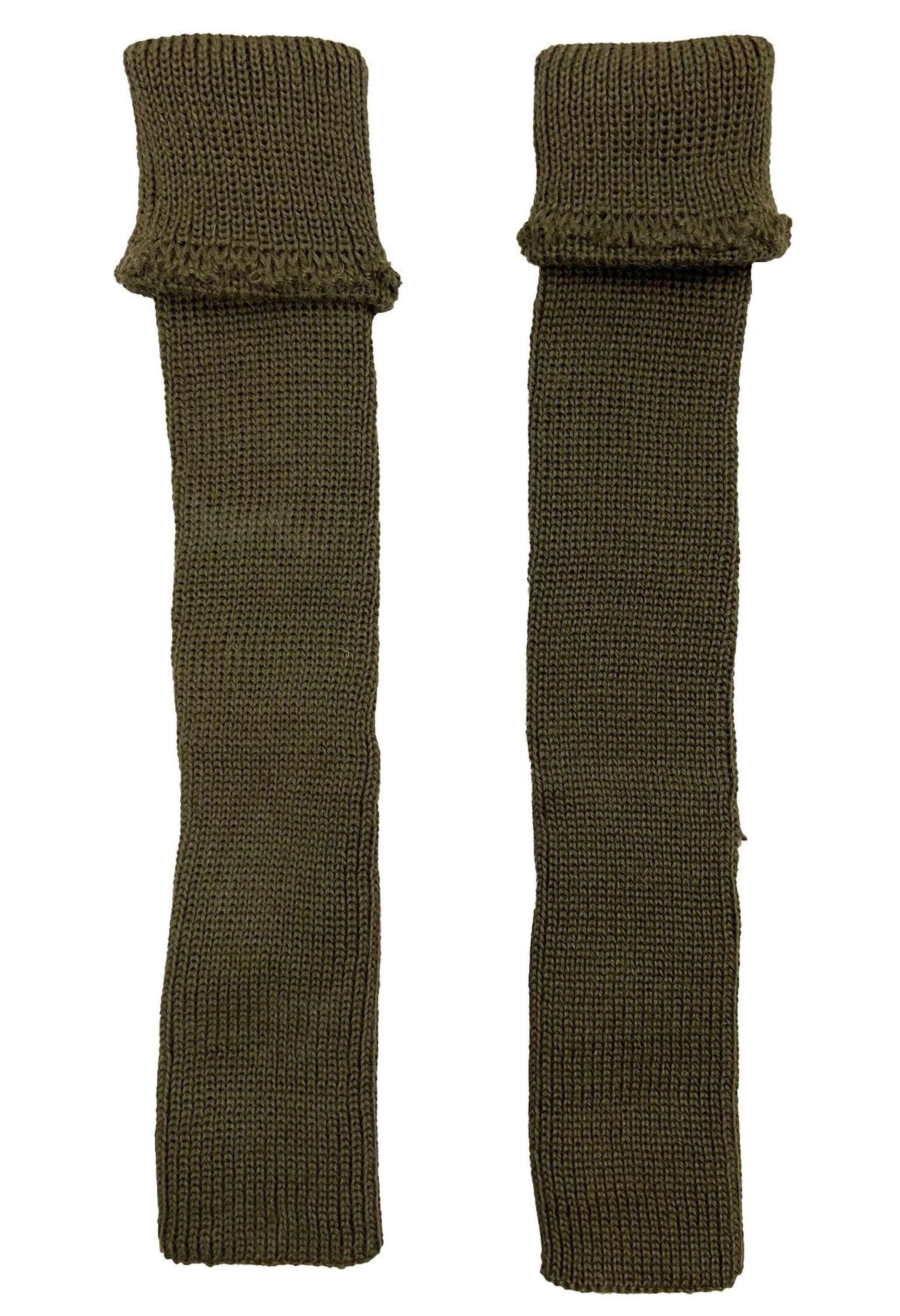 Original WW2 British Army Woollen Hosetops