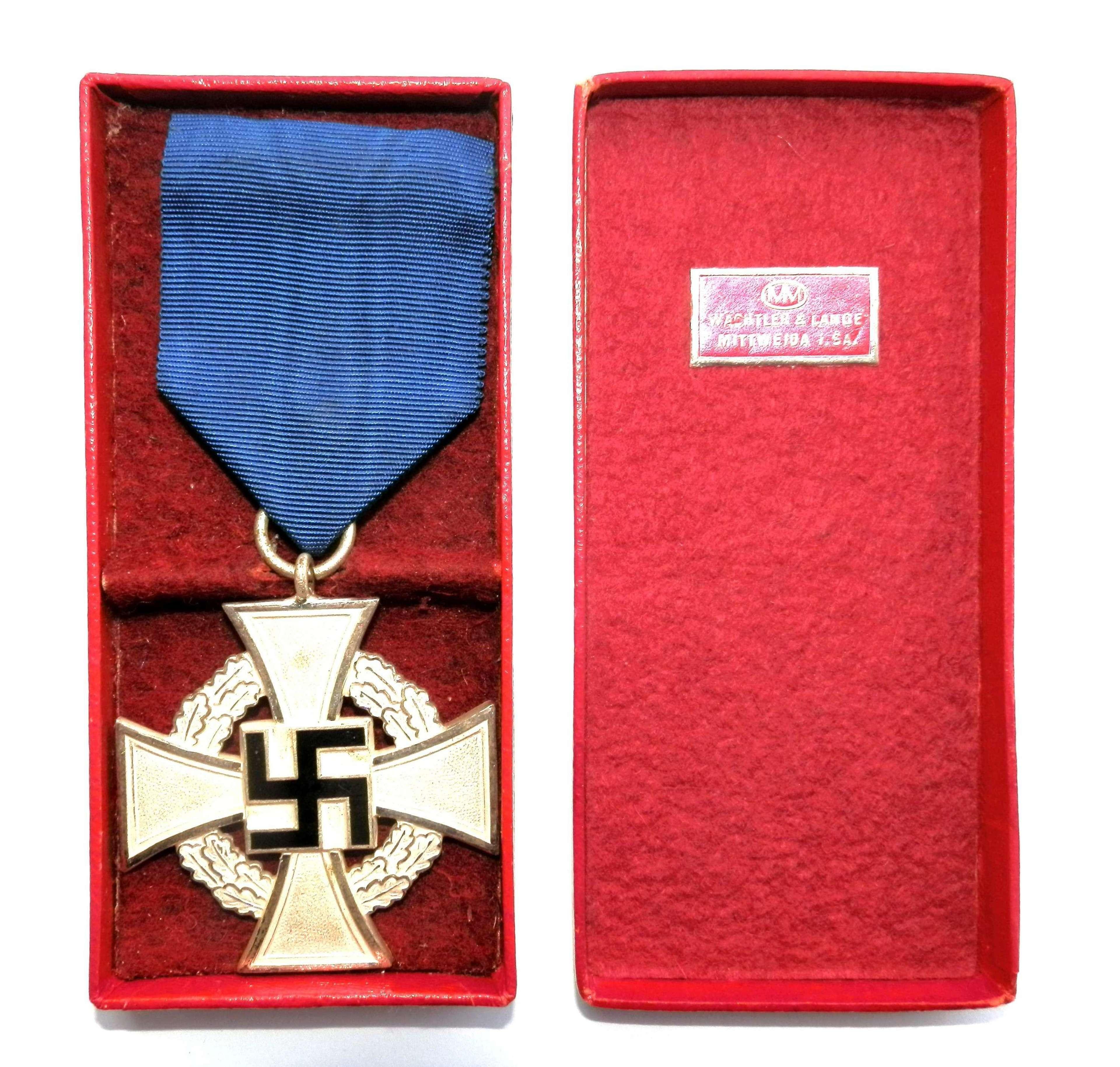 25 Years Faithful Long Service Cross.