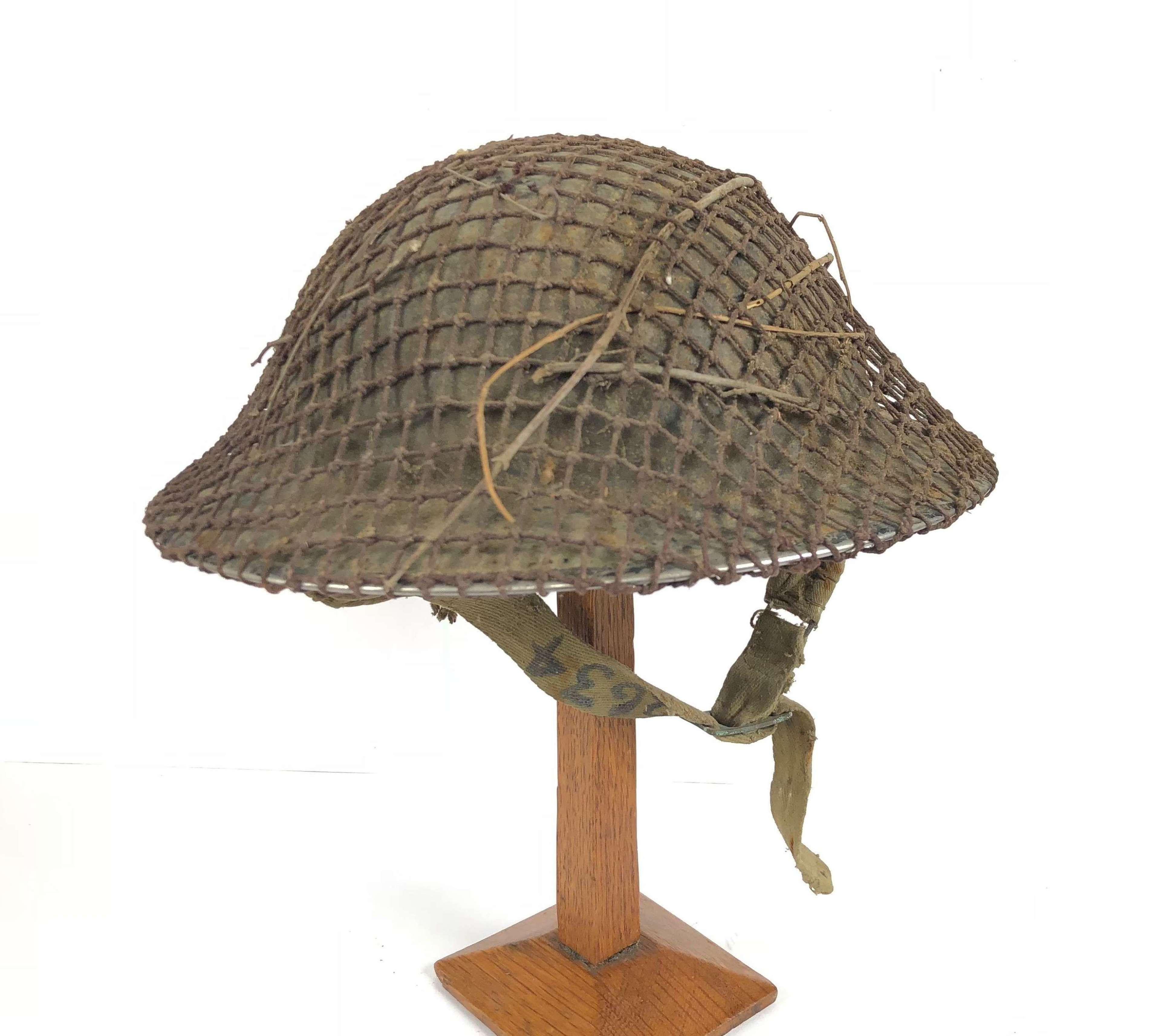 WW2 Pattern British Tommy Pattern Helmet.