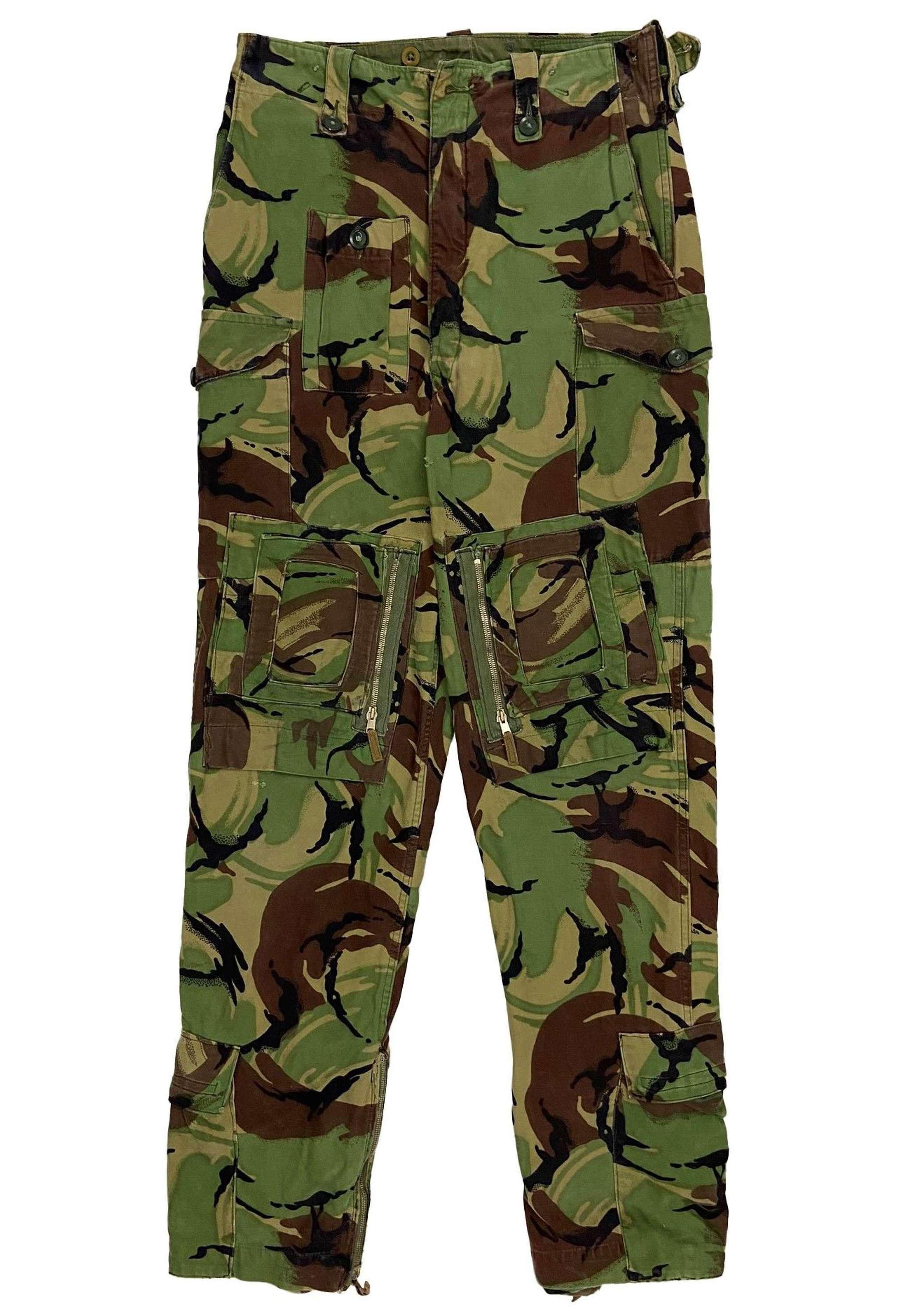 Original 1968 Pattern DPM Combat Trousers - Converted