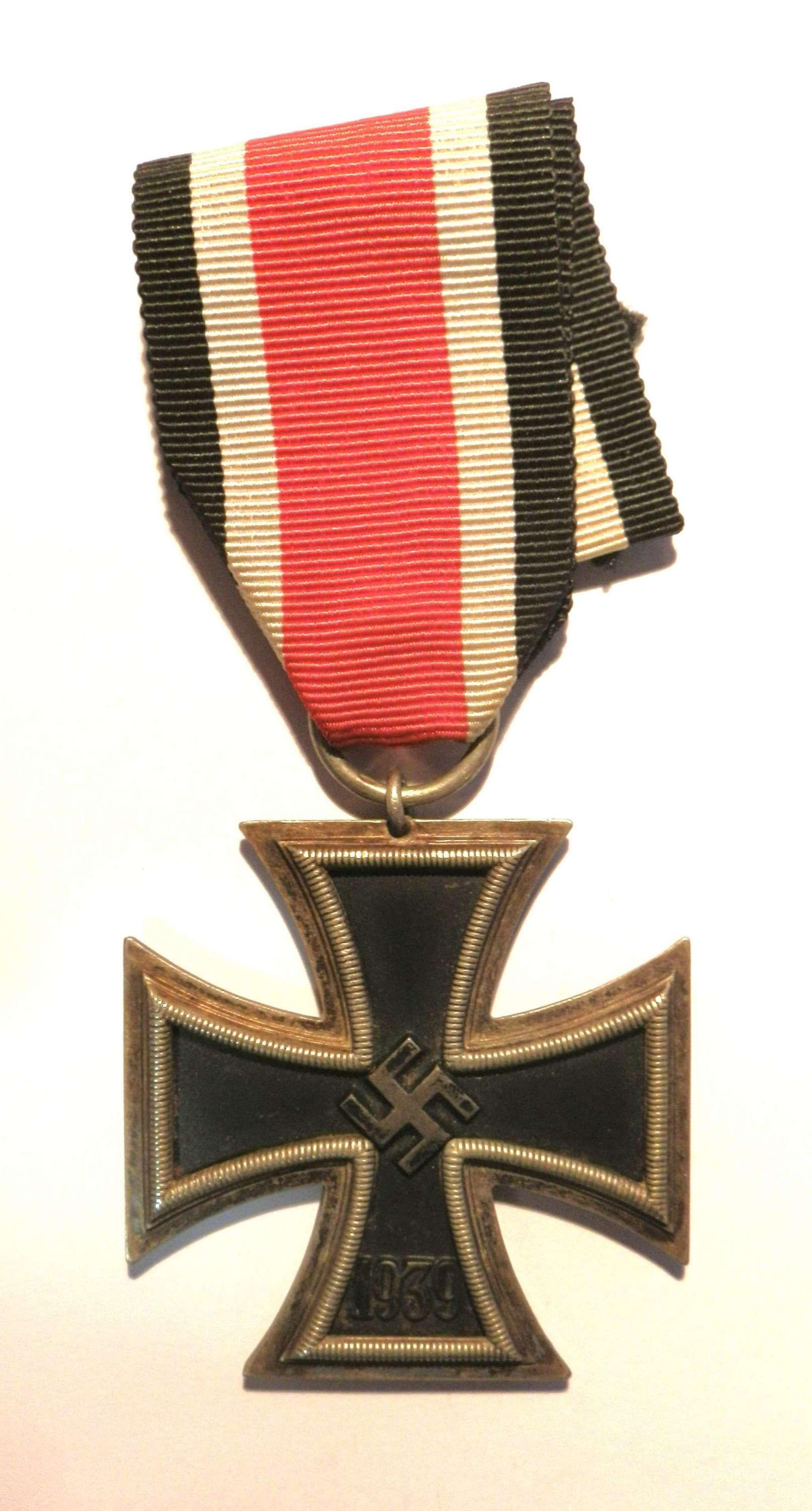Third Reich Iron Cross, 2nd Class. Makers Mark No. 65