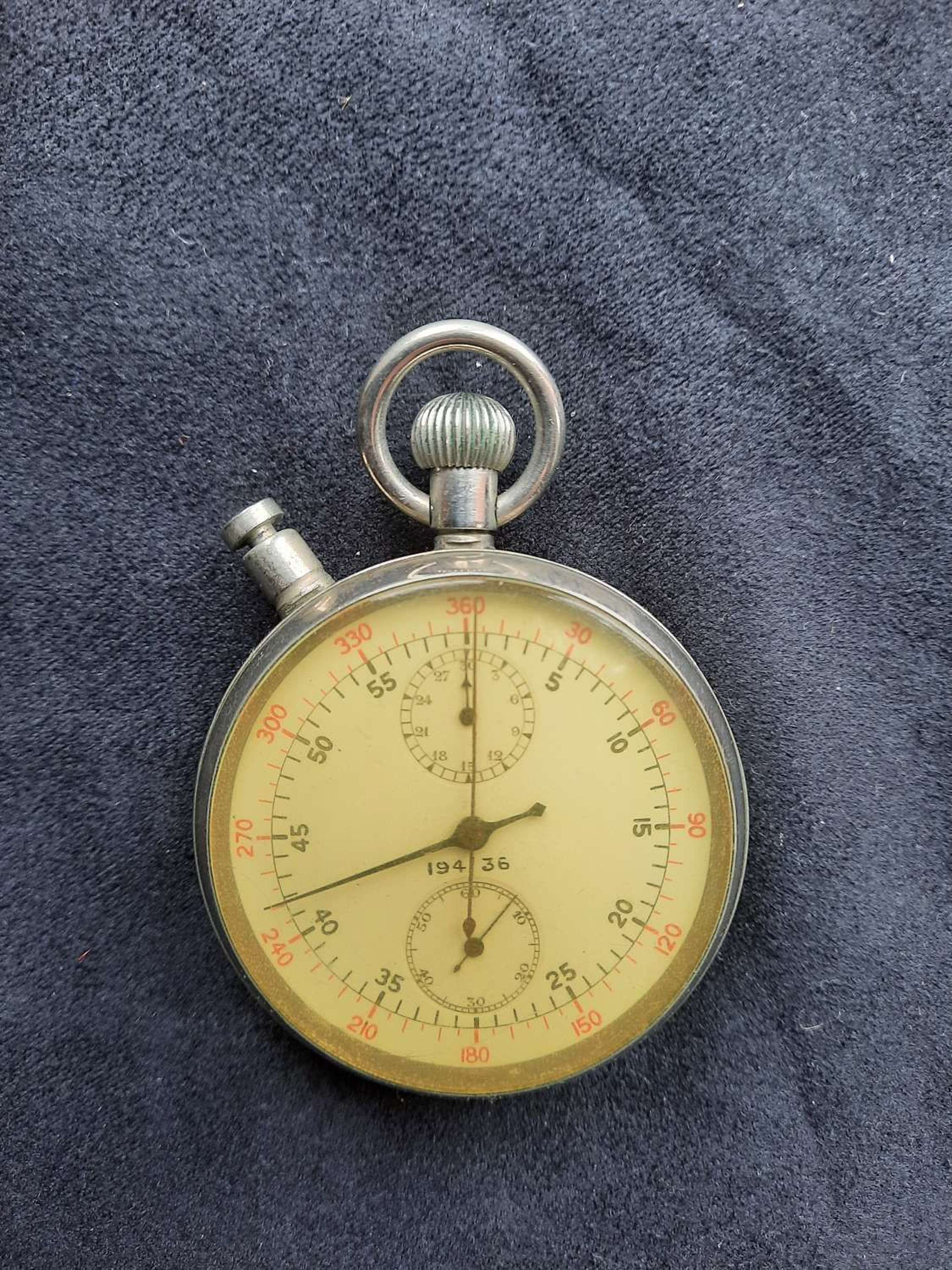 Air Ministry Stop Watch