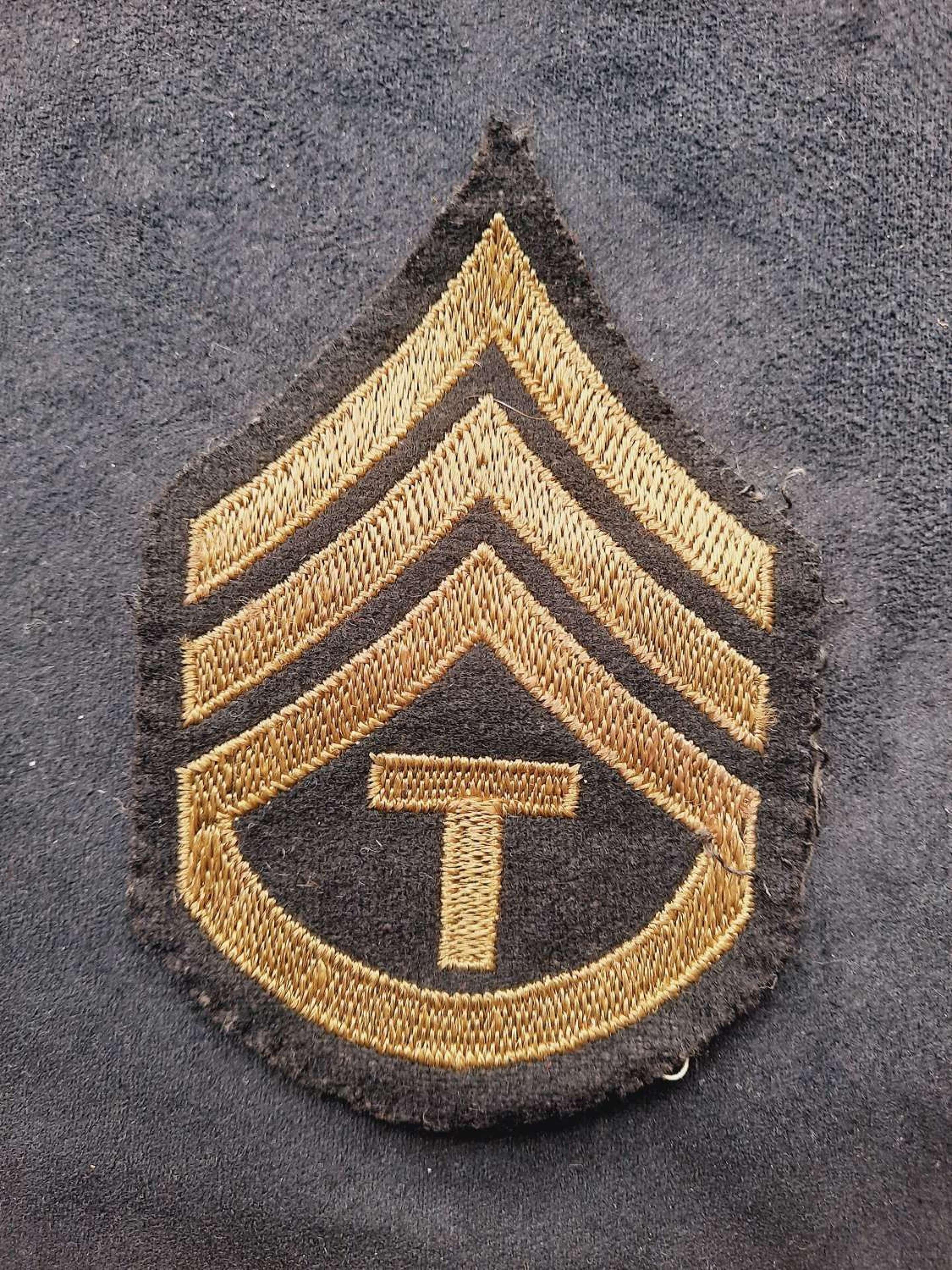 USAAF Technician 3rd Grade Patch