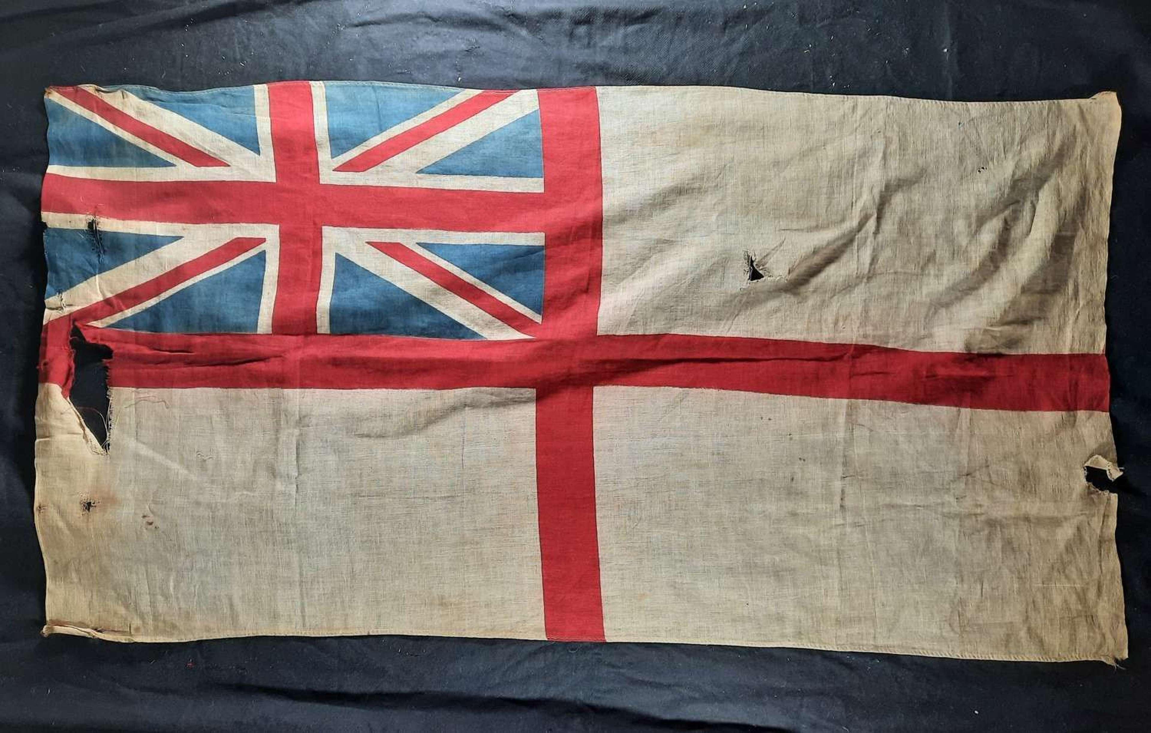 WW2 Era RN Ensign
