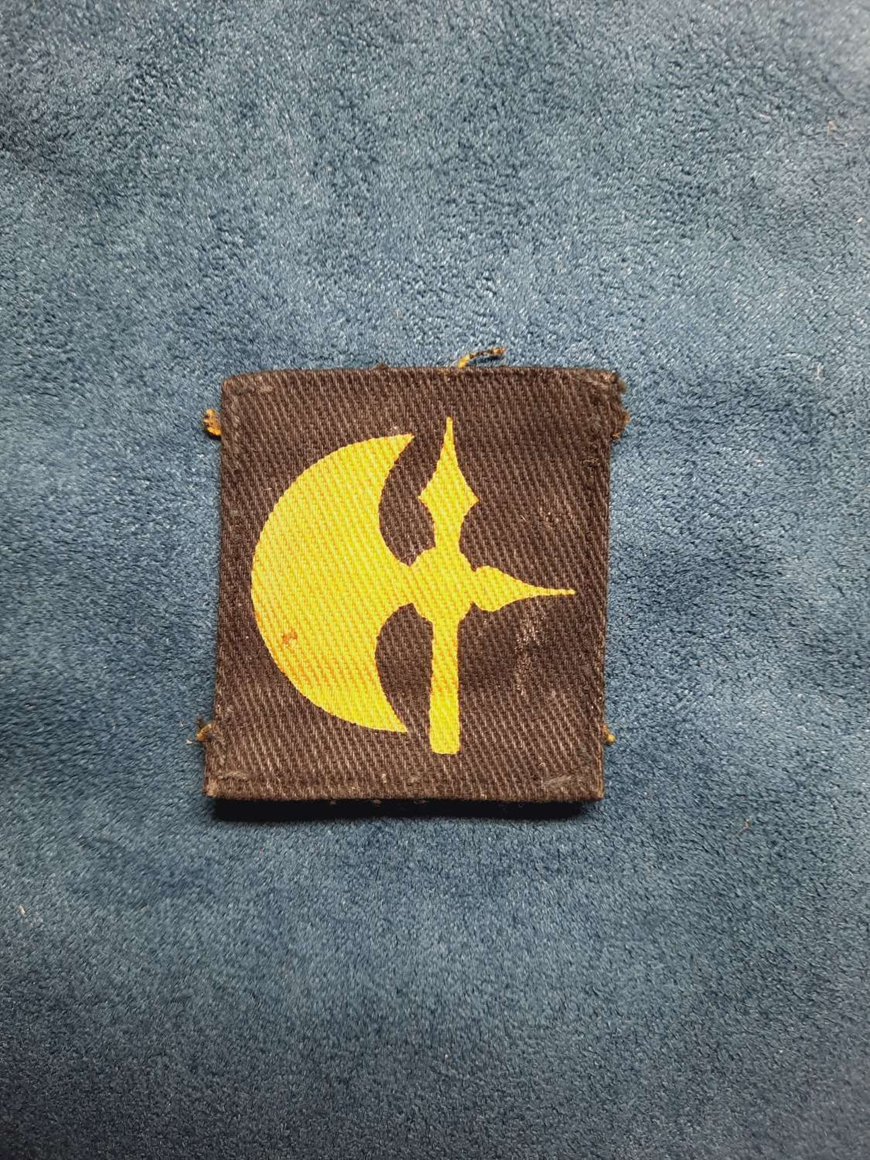78th Infantry Division printed patch