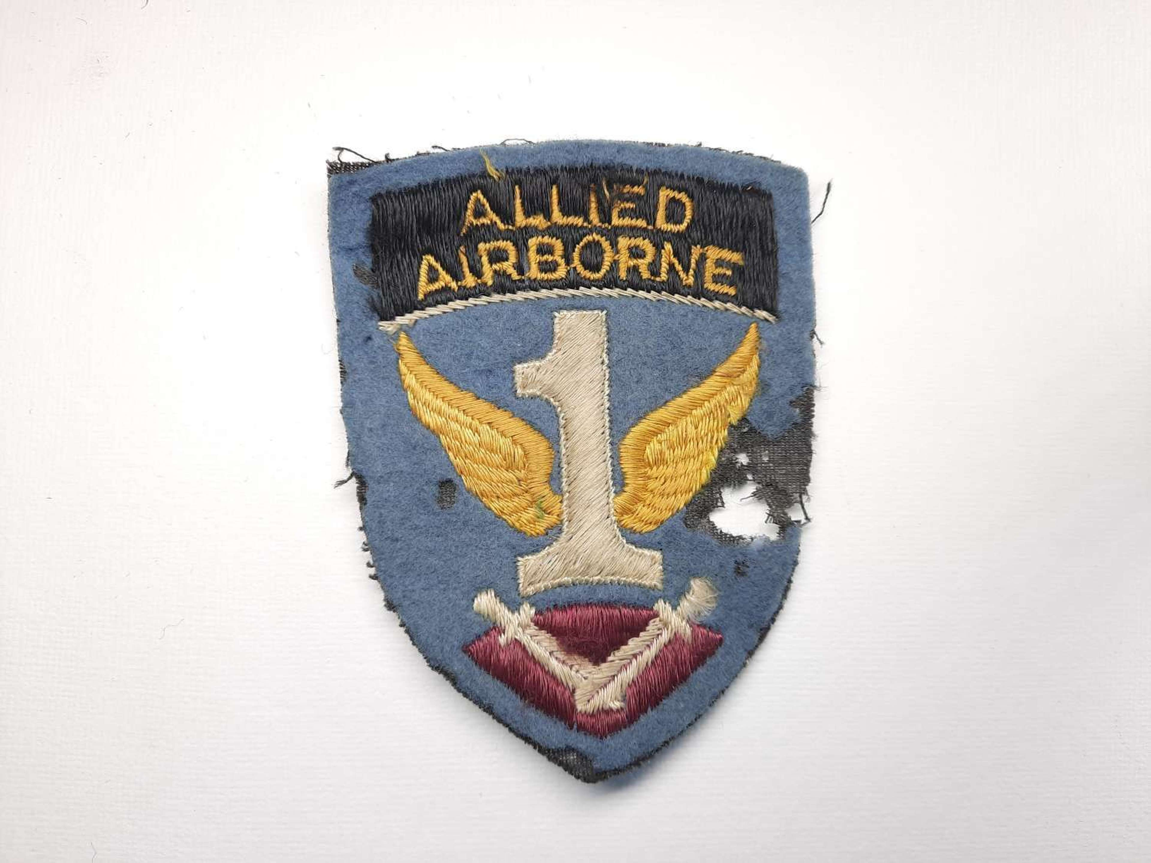 1st Allied Airborne Army Patch