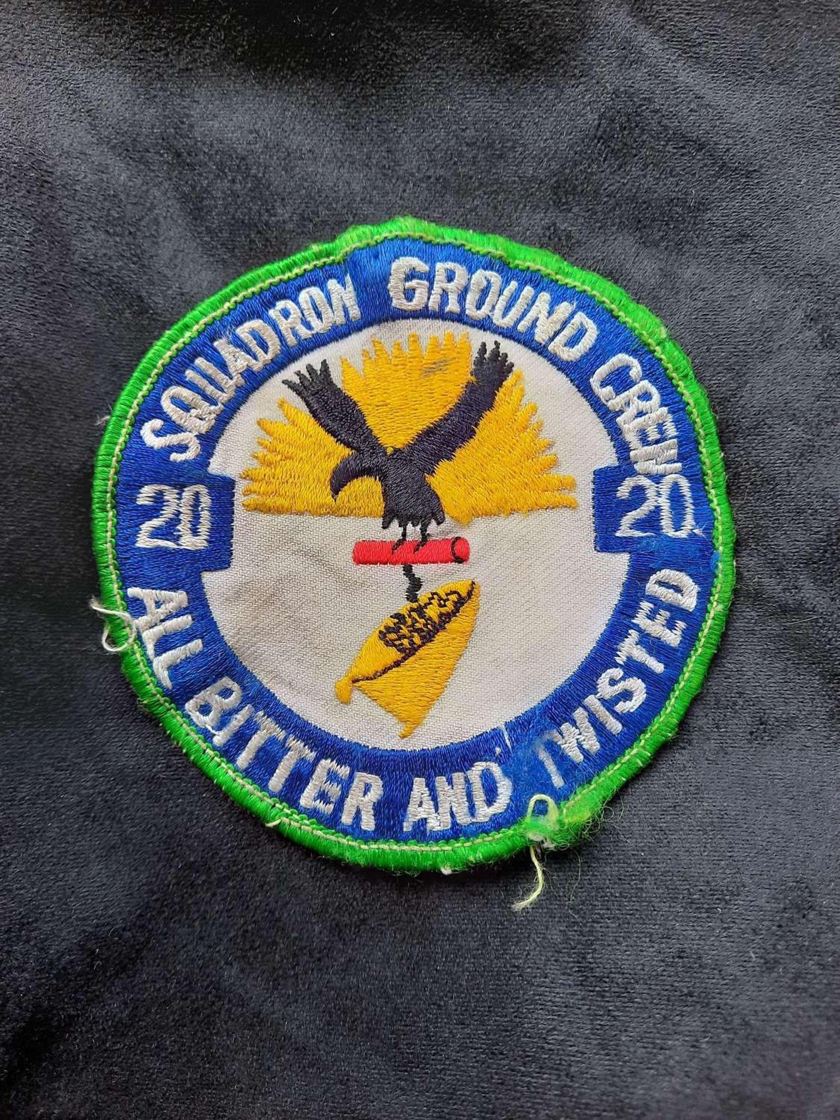 20 ground crew squadron