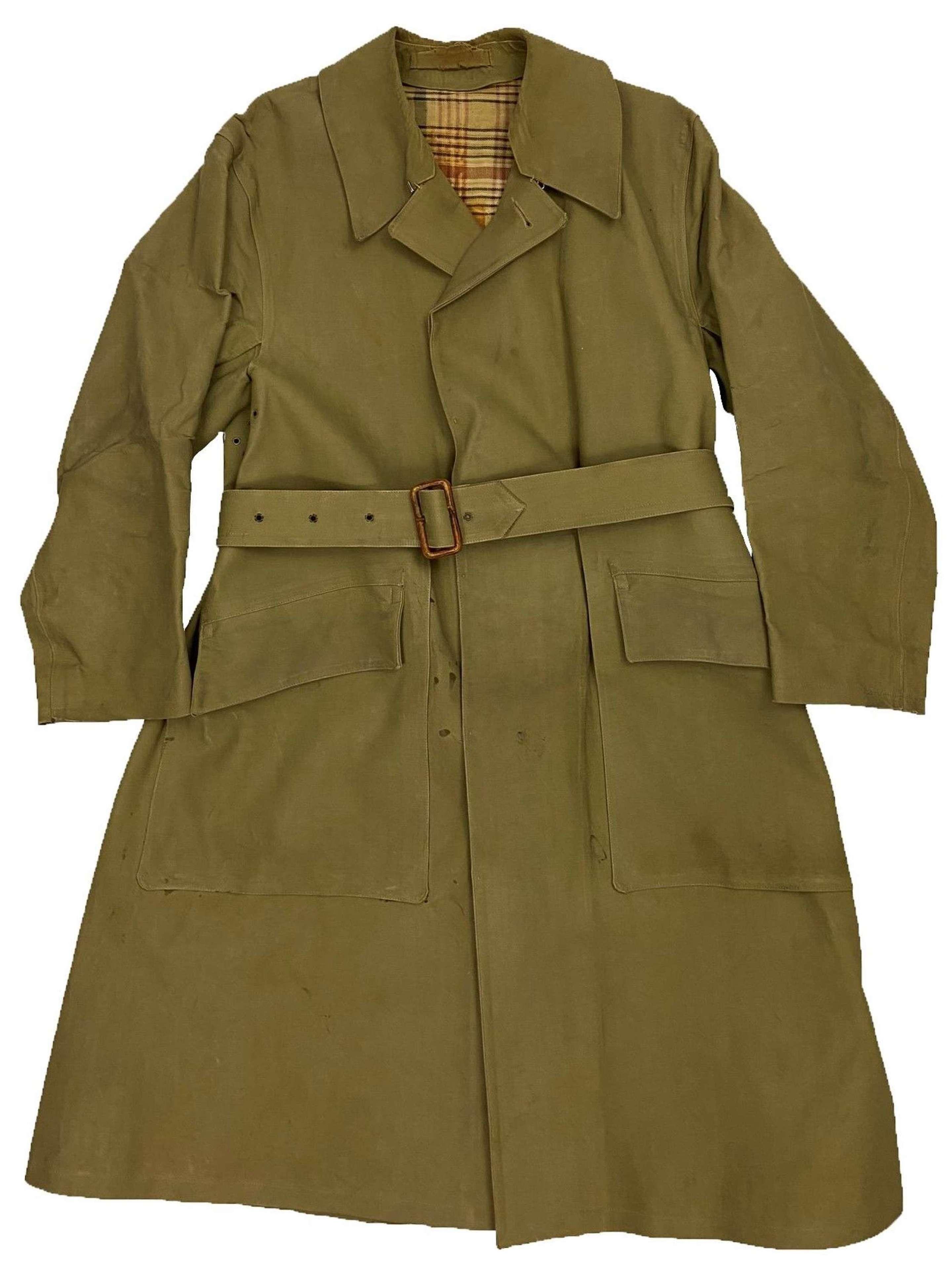 Original 1952 Pattern British Army Officers Macintosh Raincoat  Size S