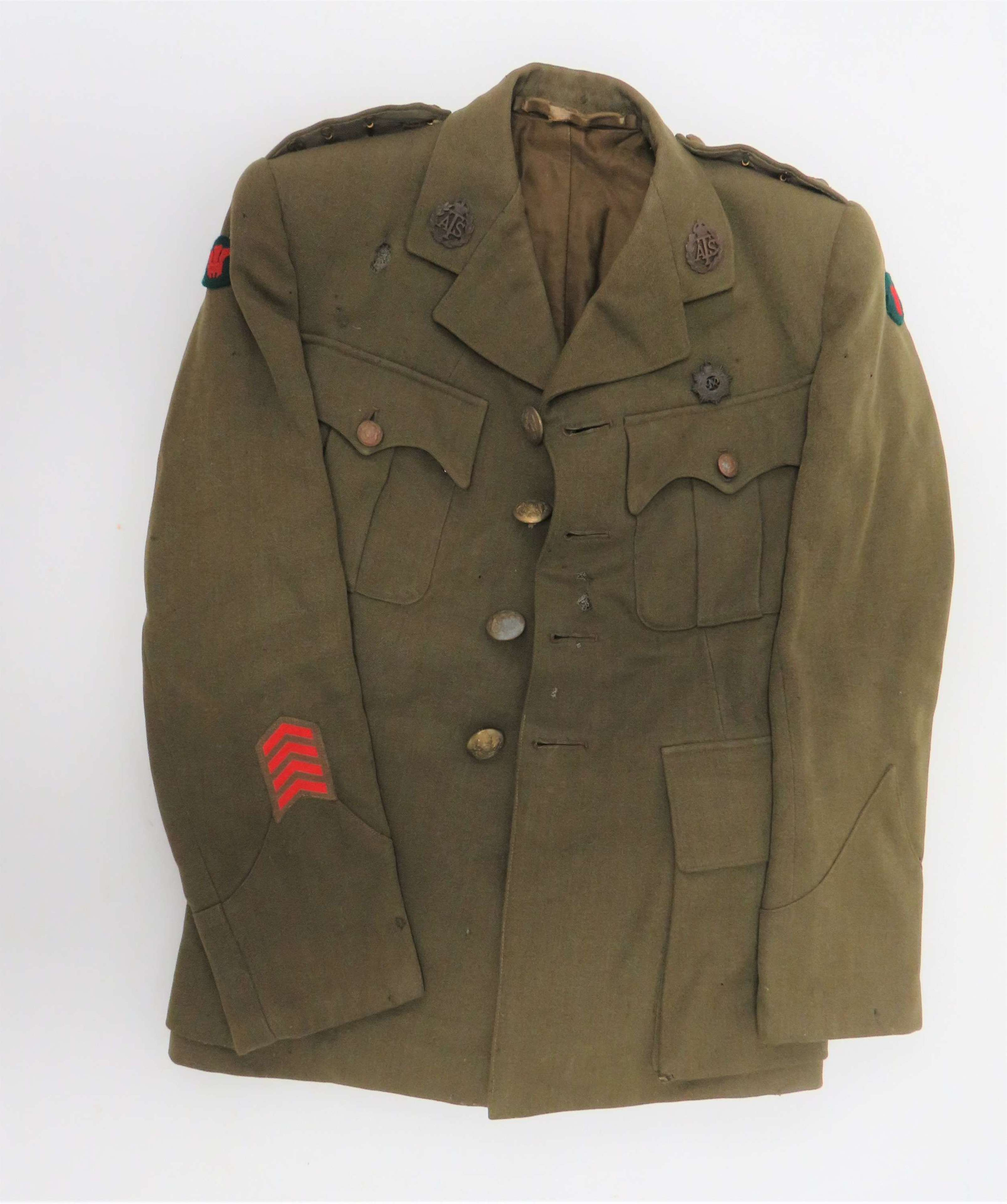 1939 Dated and Named A.T.S Officers Service Dress Tunic