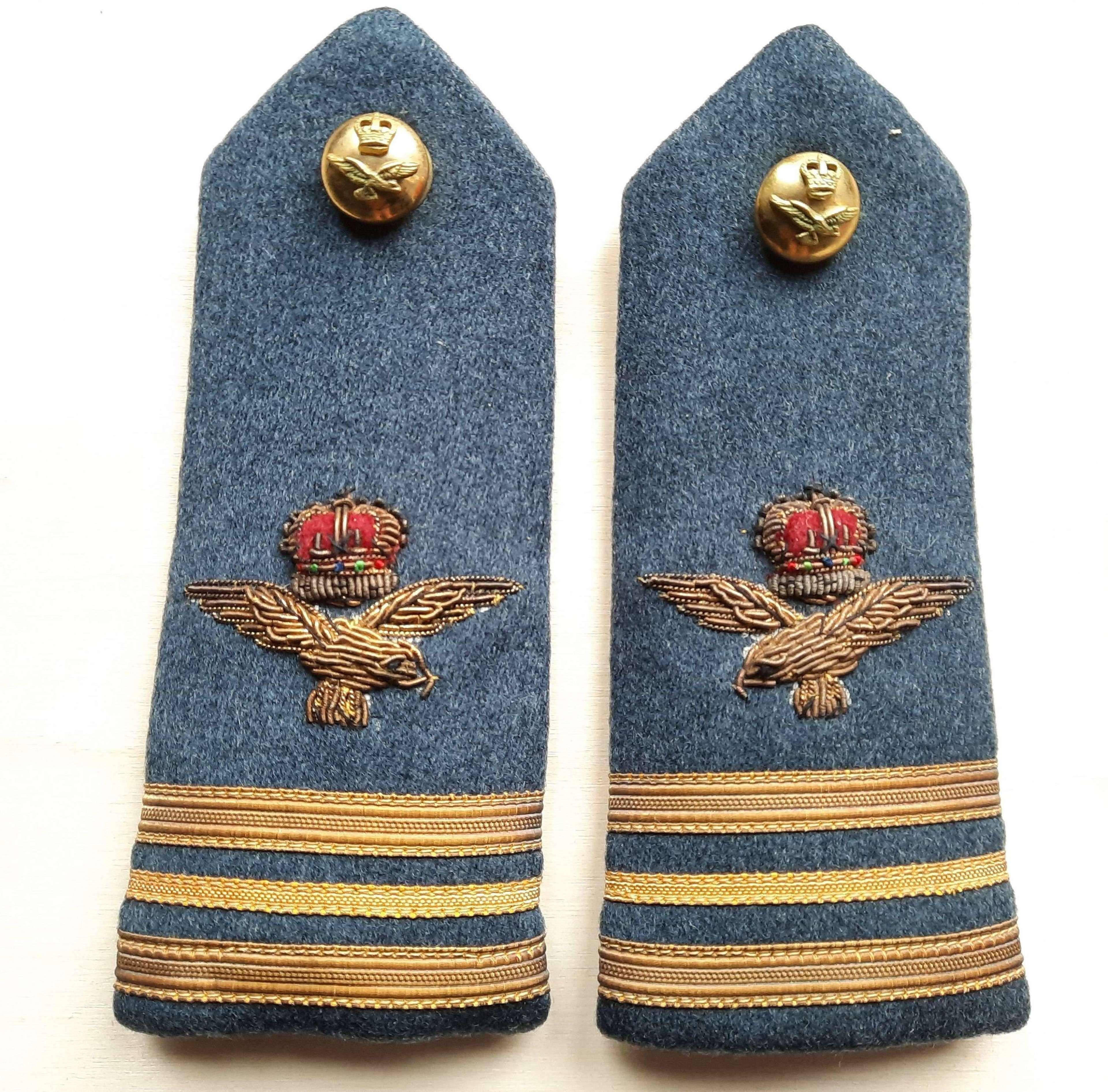 RAF Wing Commander Dress Epaulets