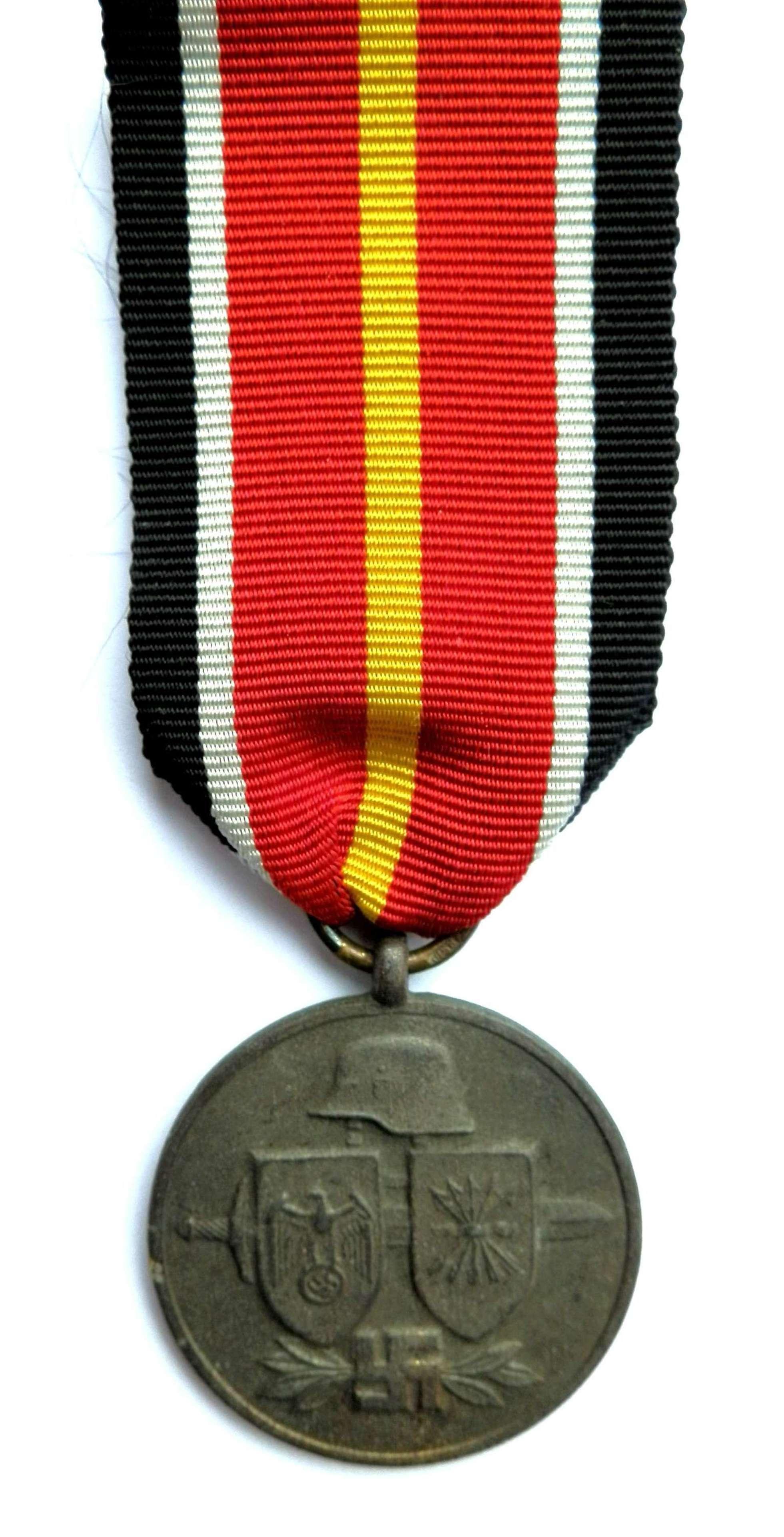 Spanish Blue Division Medal.