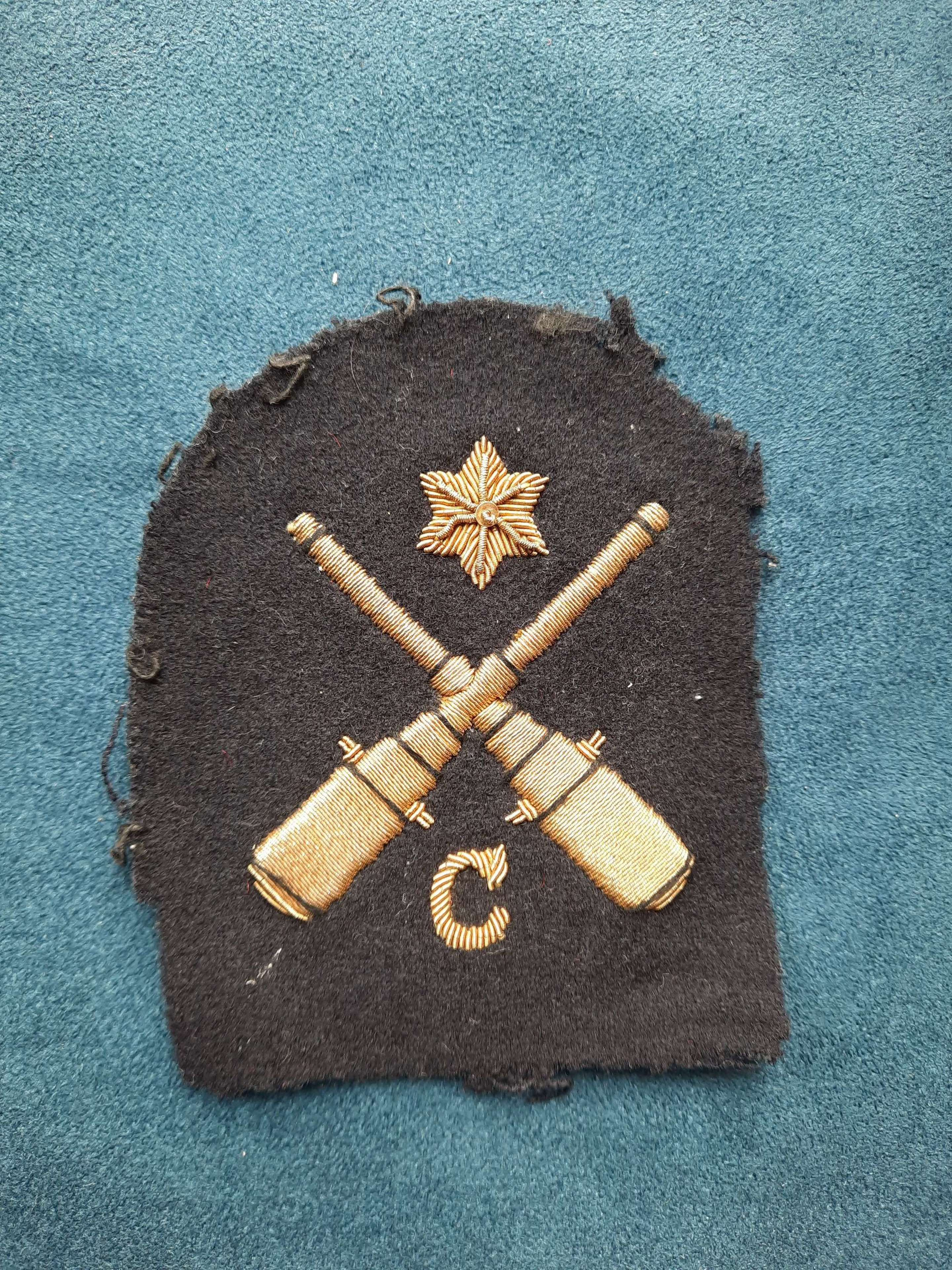 Royal Navy Control Rating 2nd Class Patch