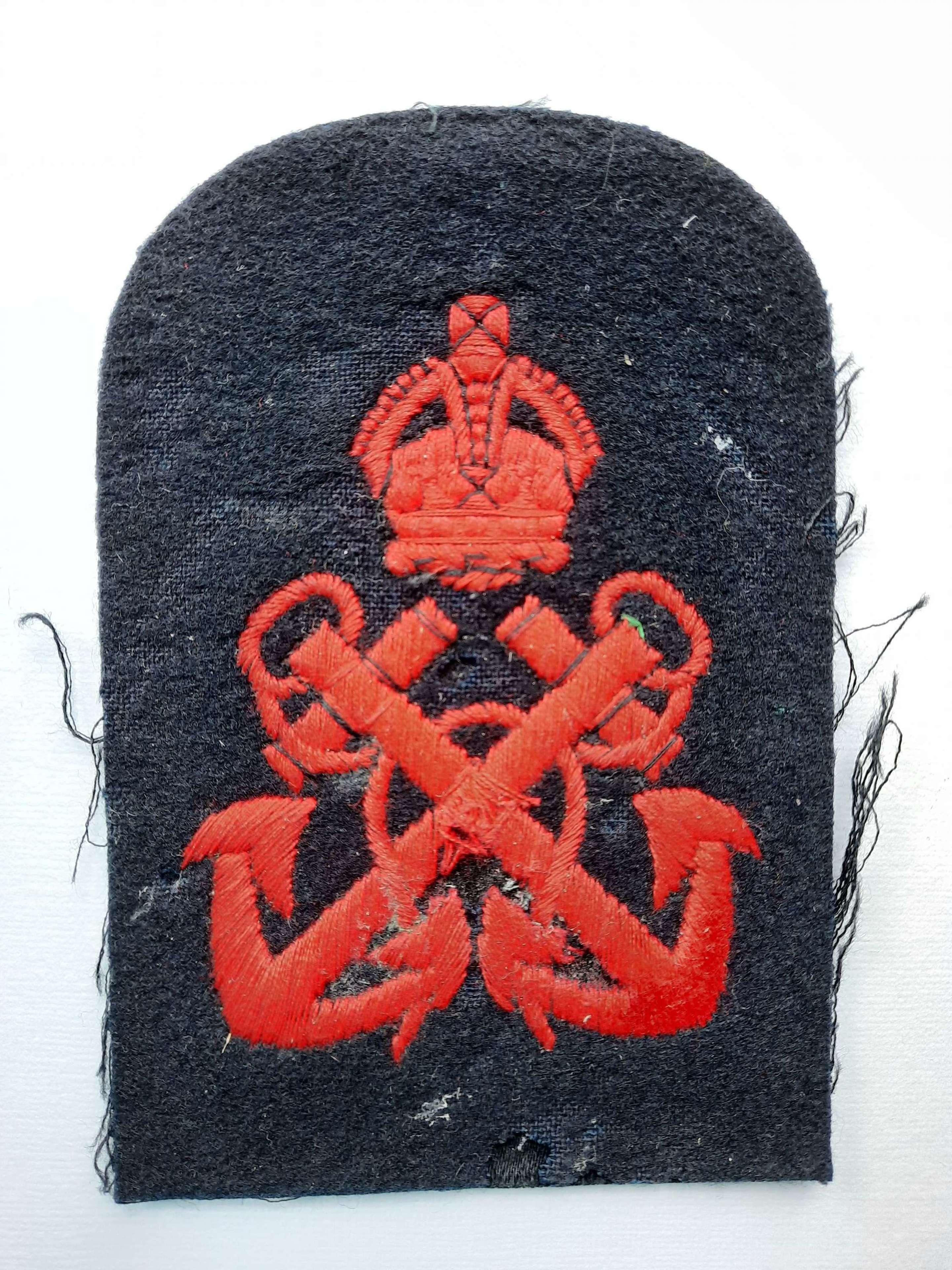 Royal Navy Chief Petty Officer Patch
