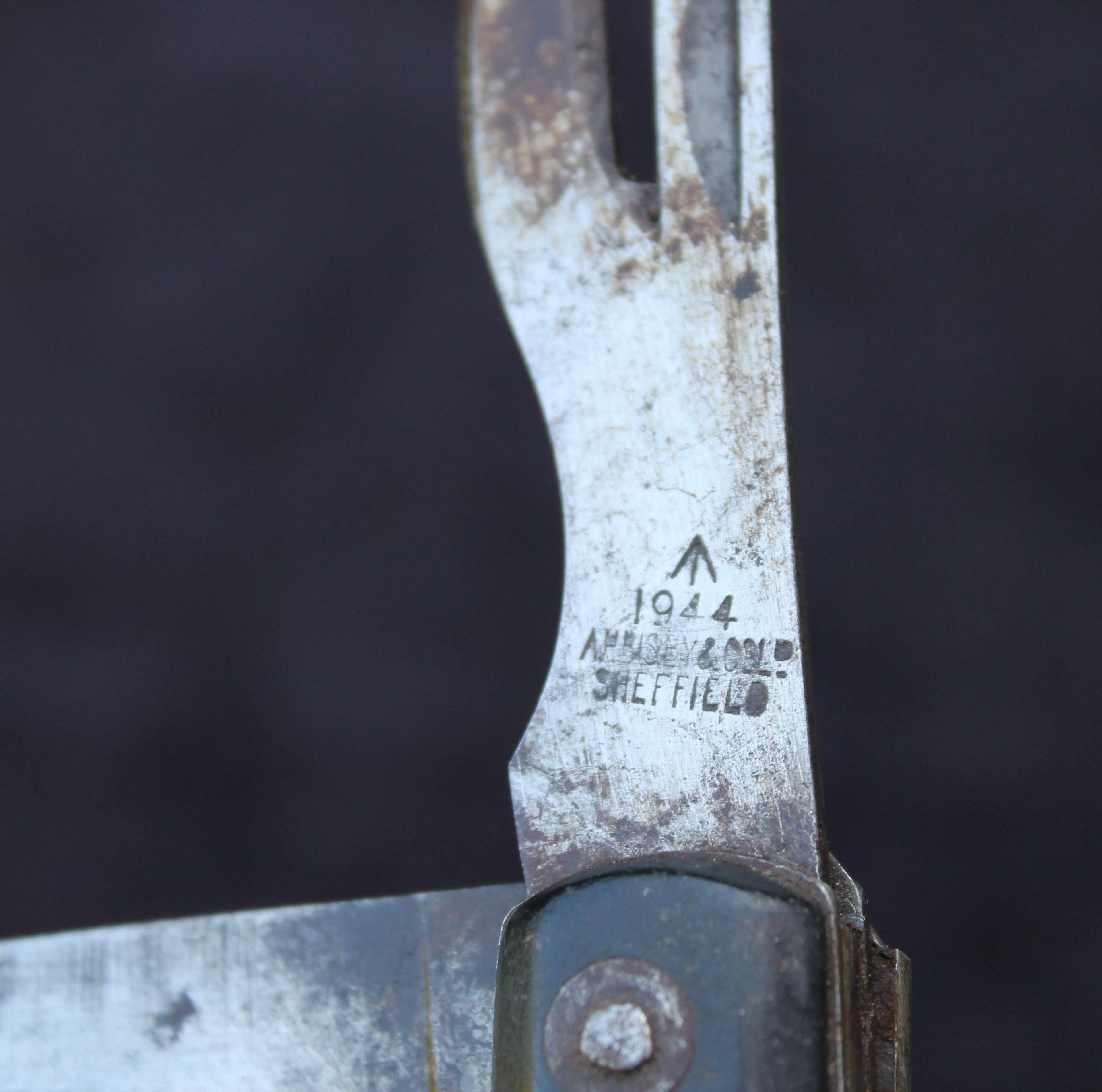 1944 Dated British Army Jack Knife