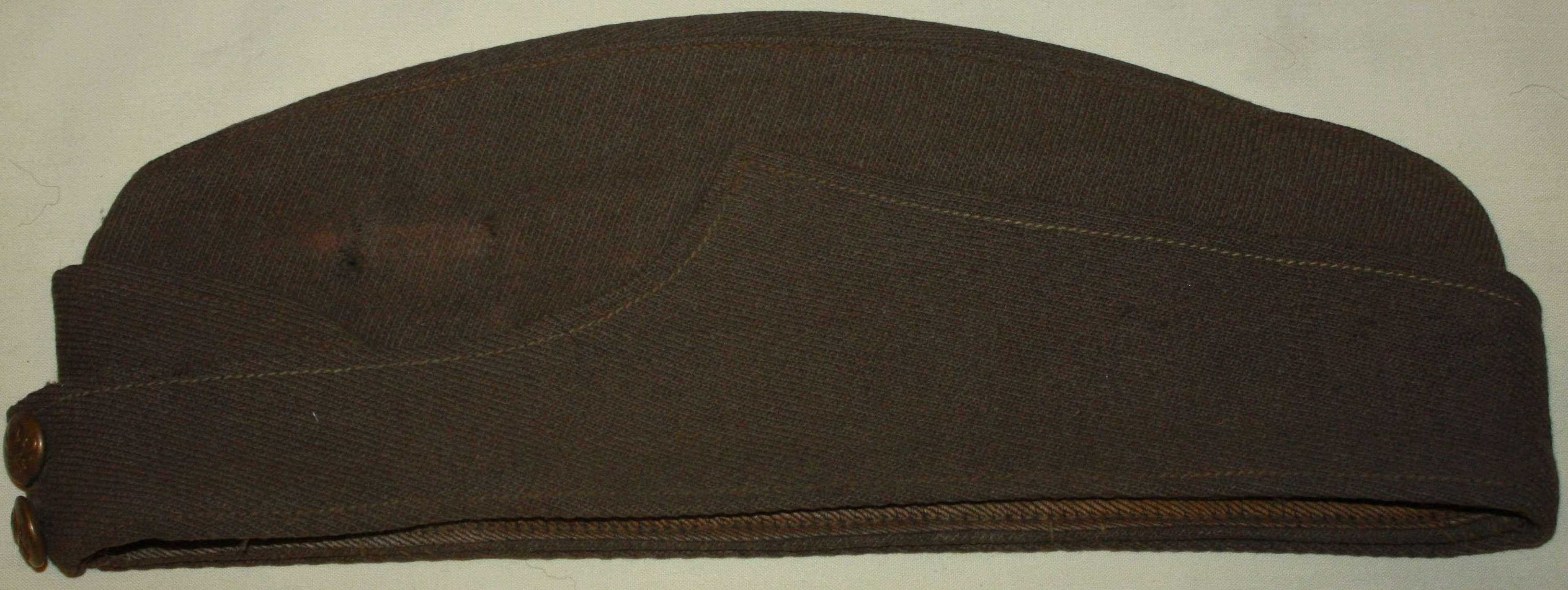 A GOOD OTHER RANKS ( WARRANT OFFICERS ) PRIVATE PURCHASE RFC SIDE CAP