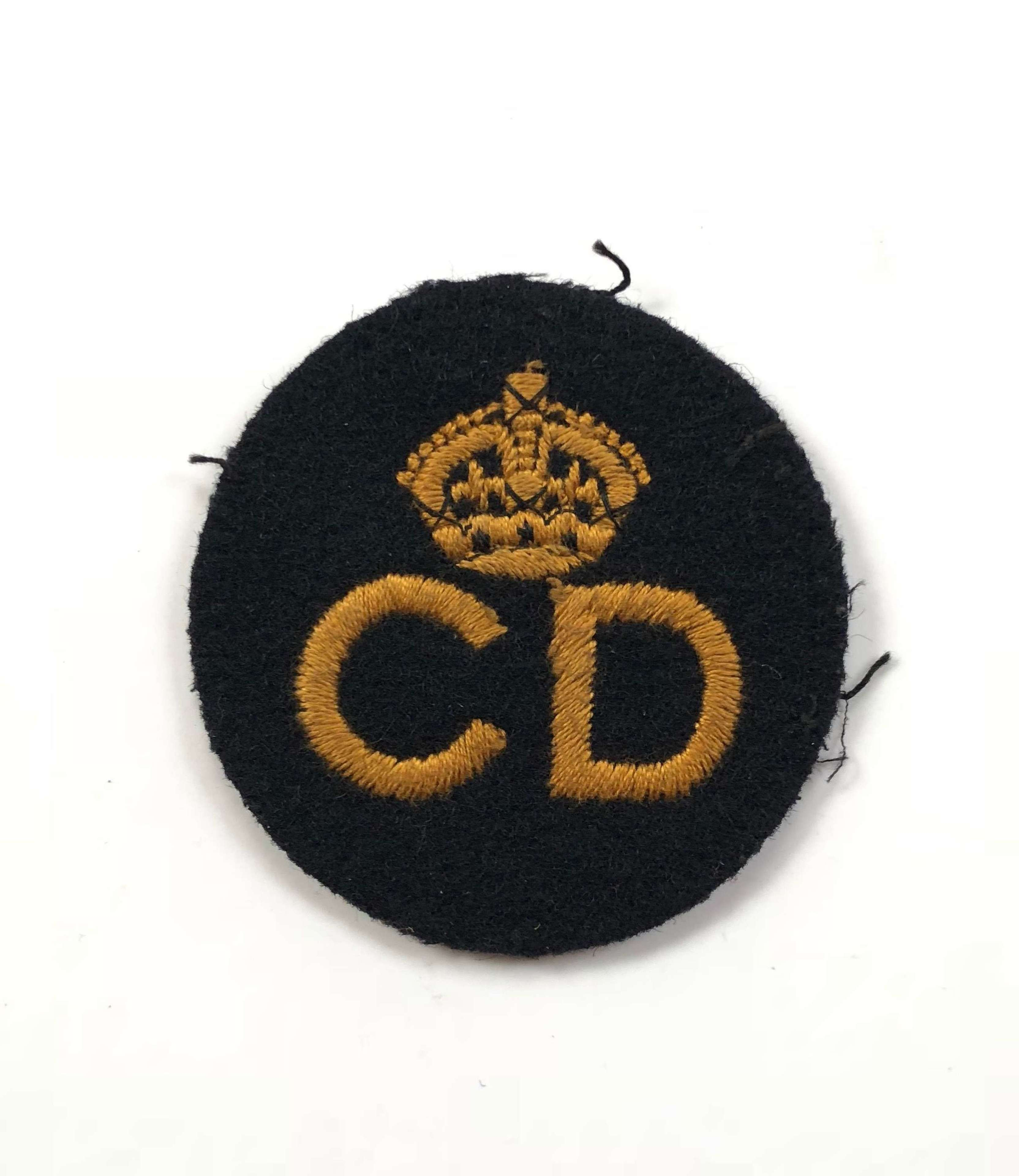 WW2 Civil Defence Home Front Breast Badge.