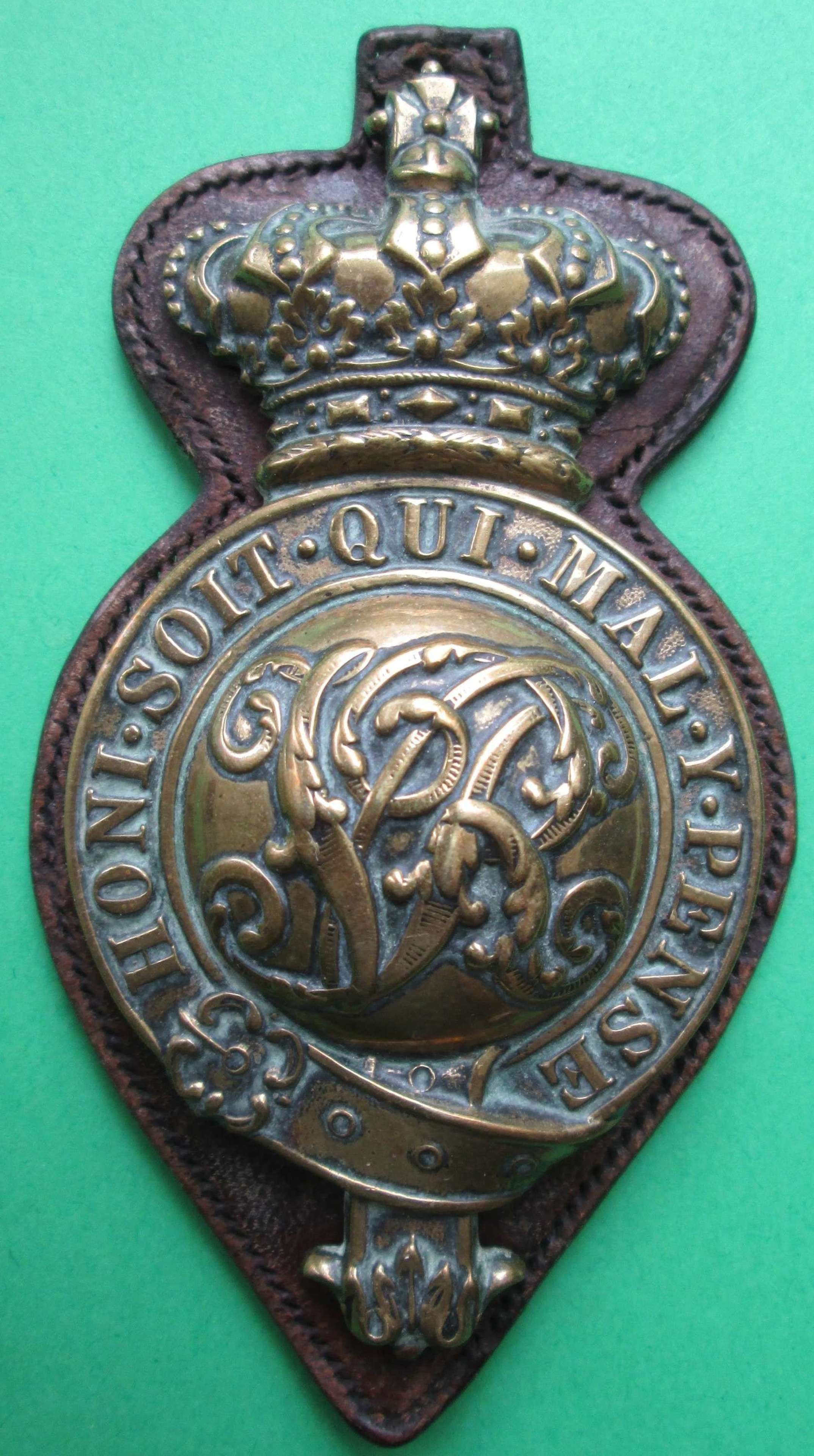 A VICTORIAN MOUNTED INFANTRY OFFICER'S HORSE MARTINGALE