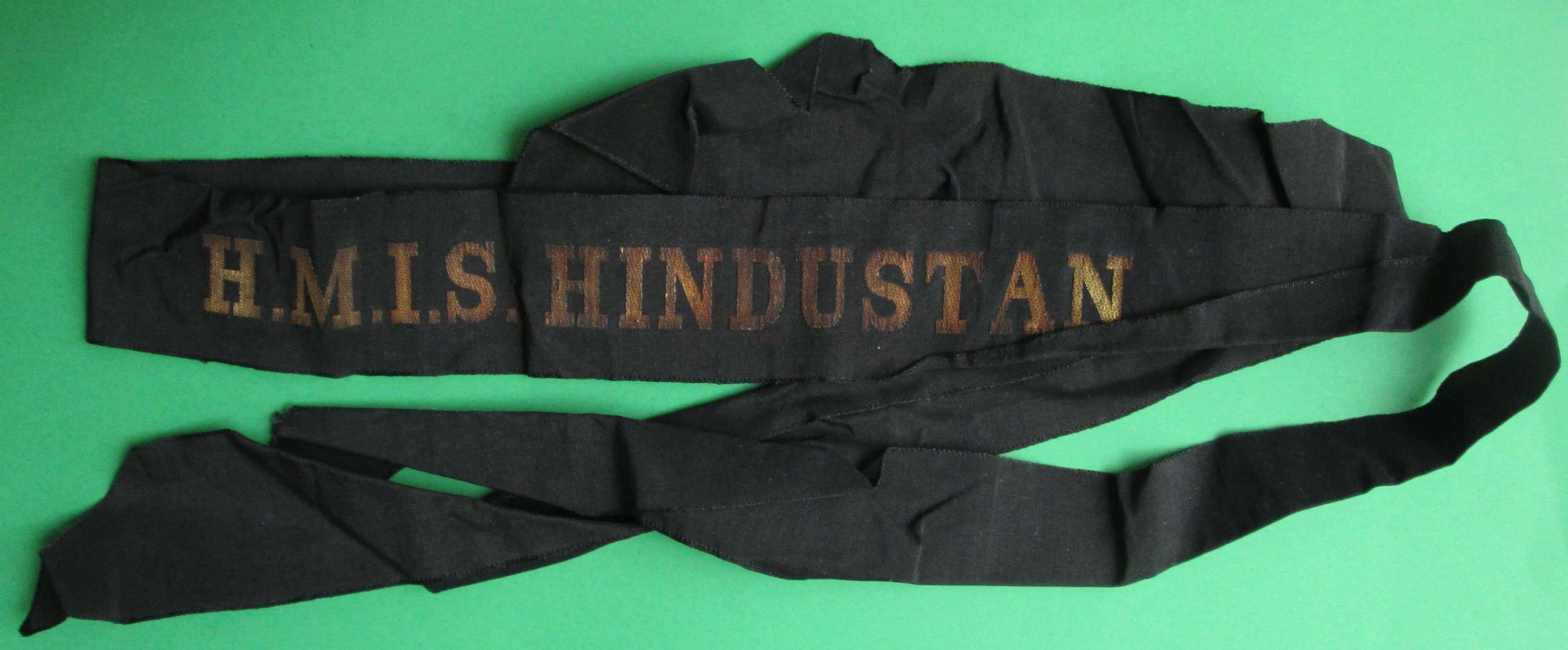 H.M.I.S HINDUSTAN CAP TALLY