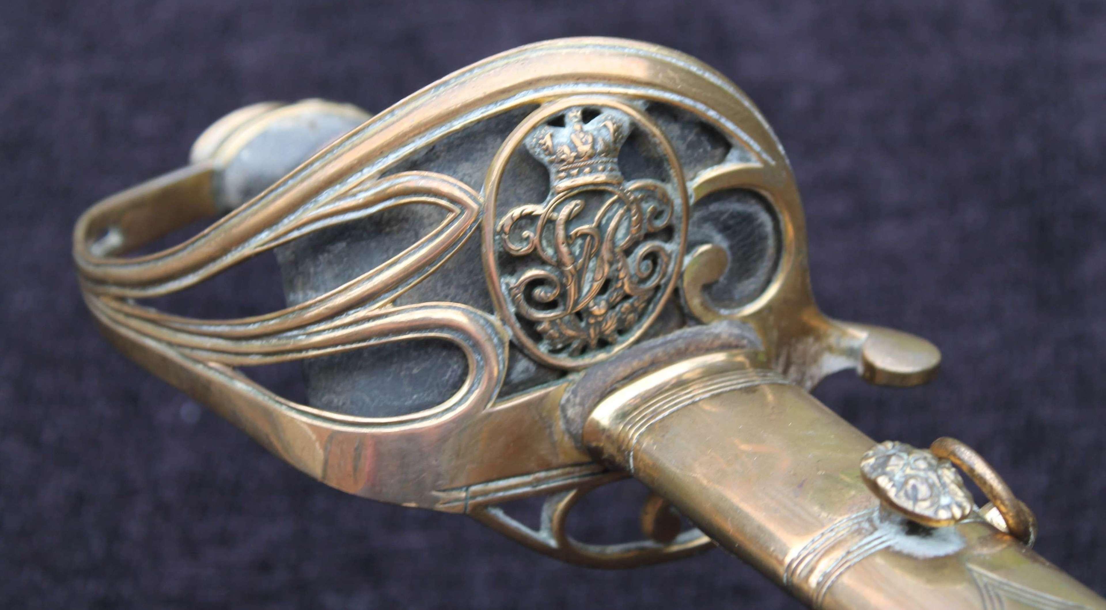 1822 Pattern Infantry Officers Sword