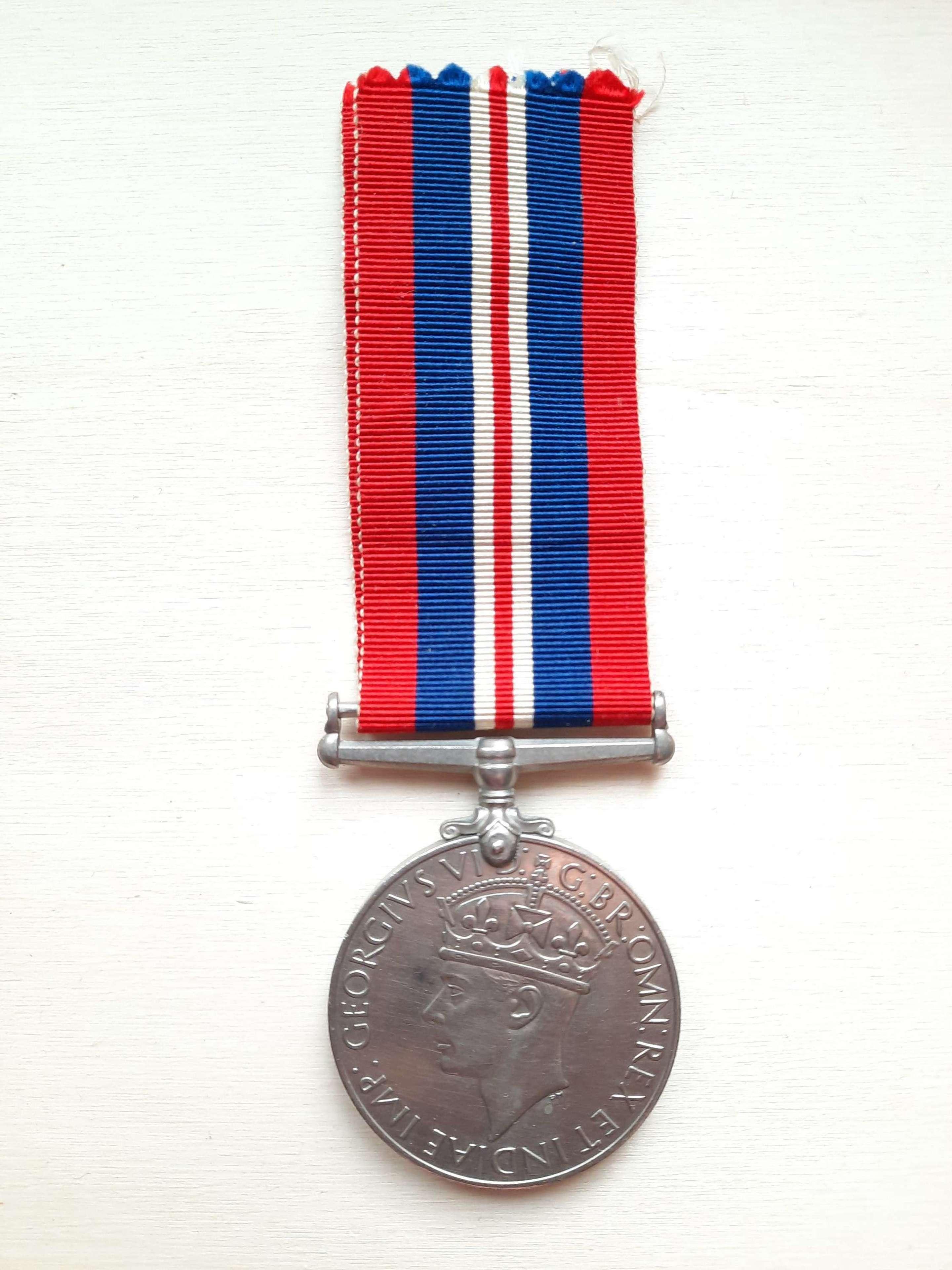 British WW2 War Medal