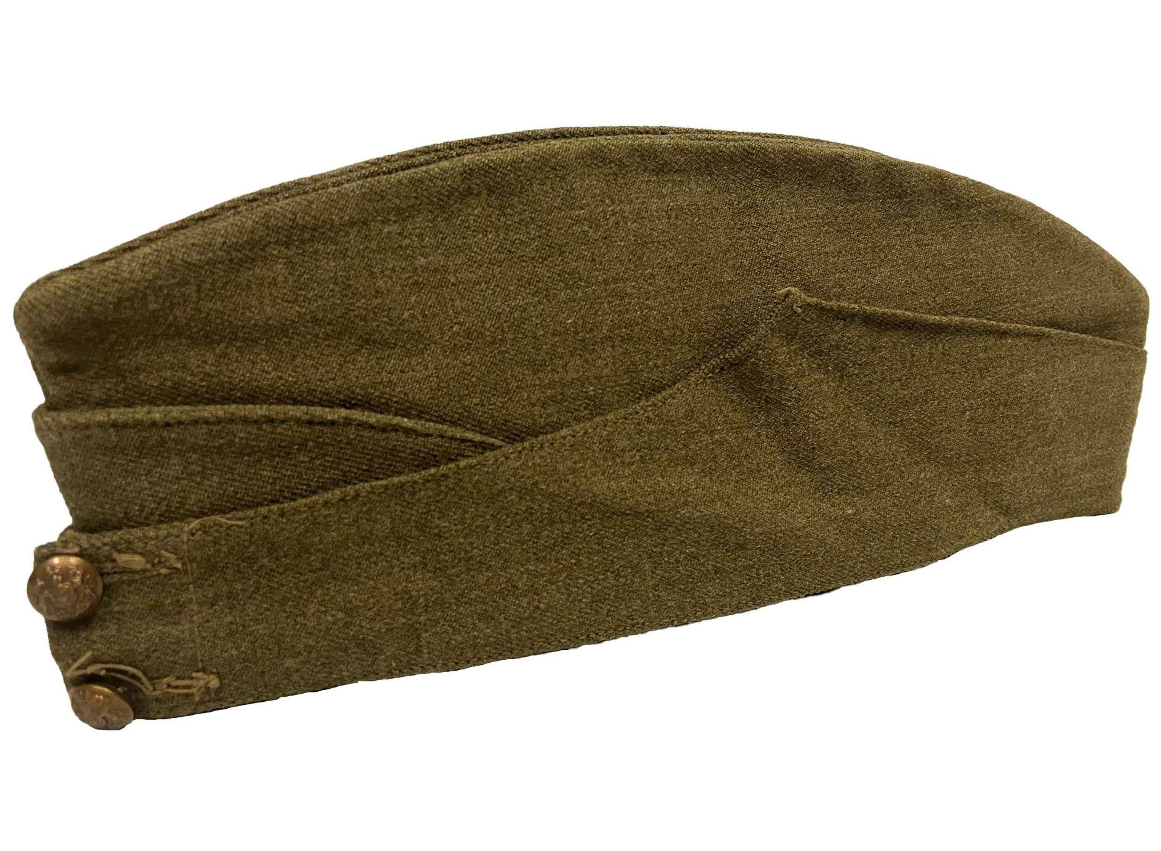 Original 1941 Dated British Army Field Service Cap