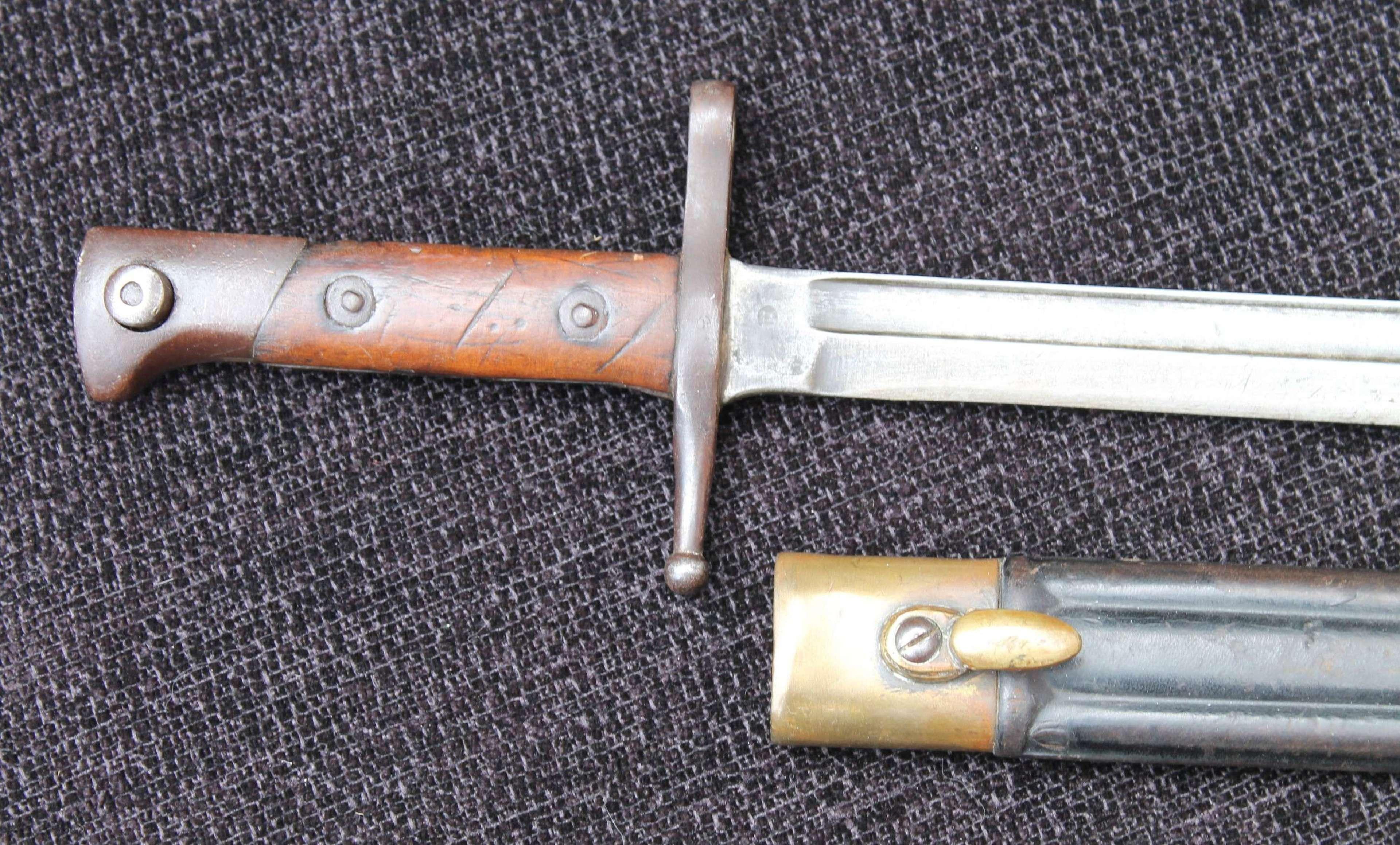 Italian Carcano Bayonet