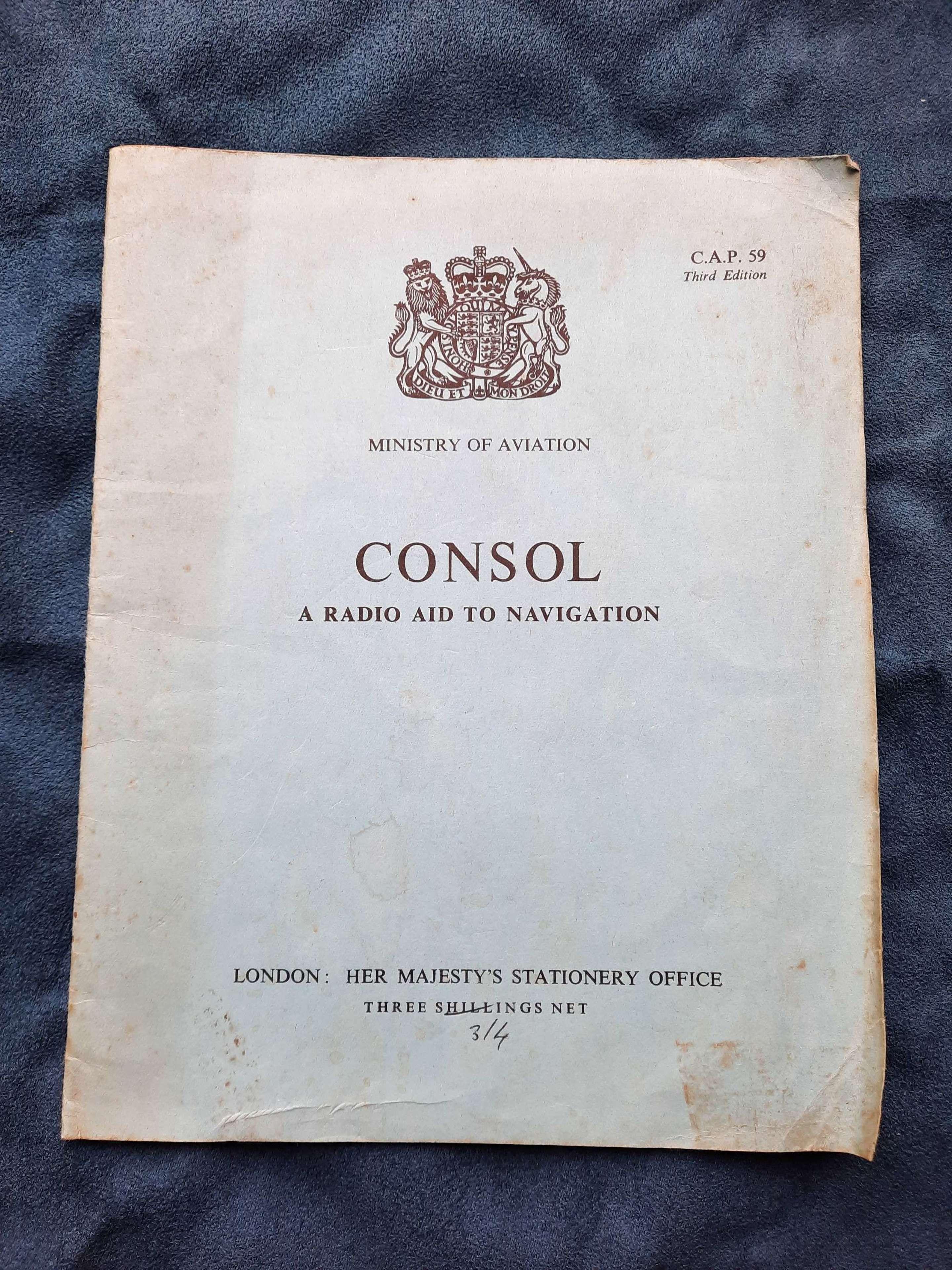 CONSOL A Radio Aid to Navigation