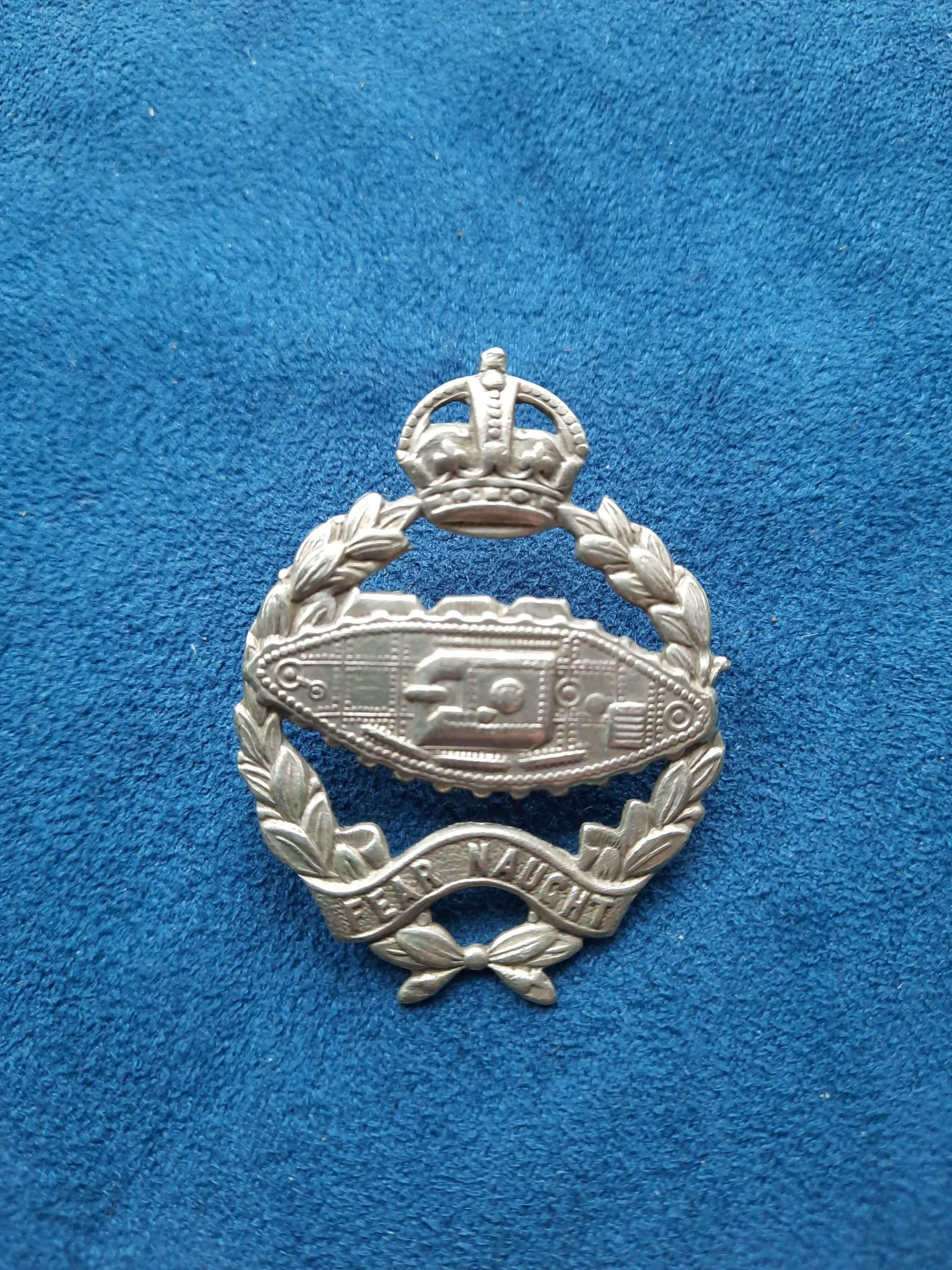Tank Regiment Beret Badge