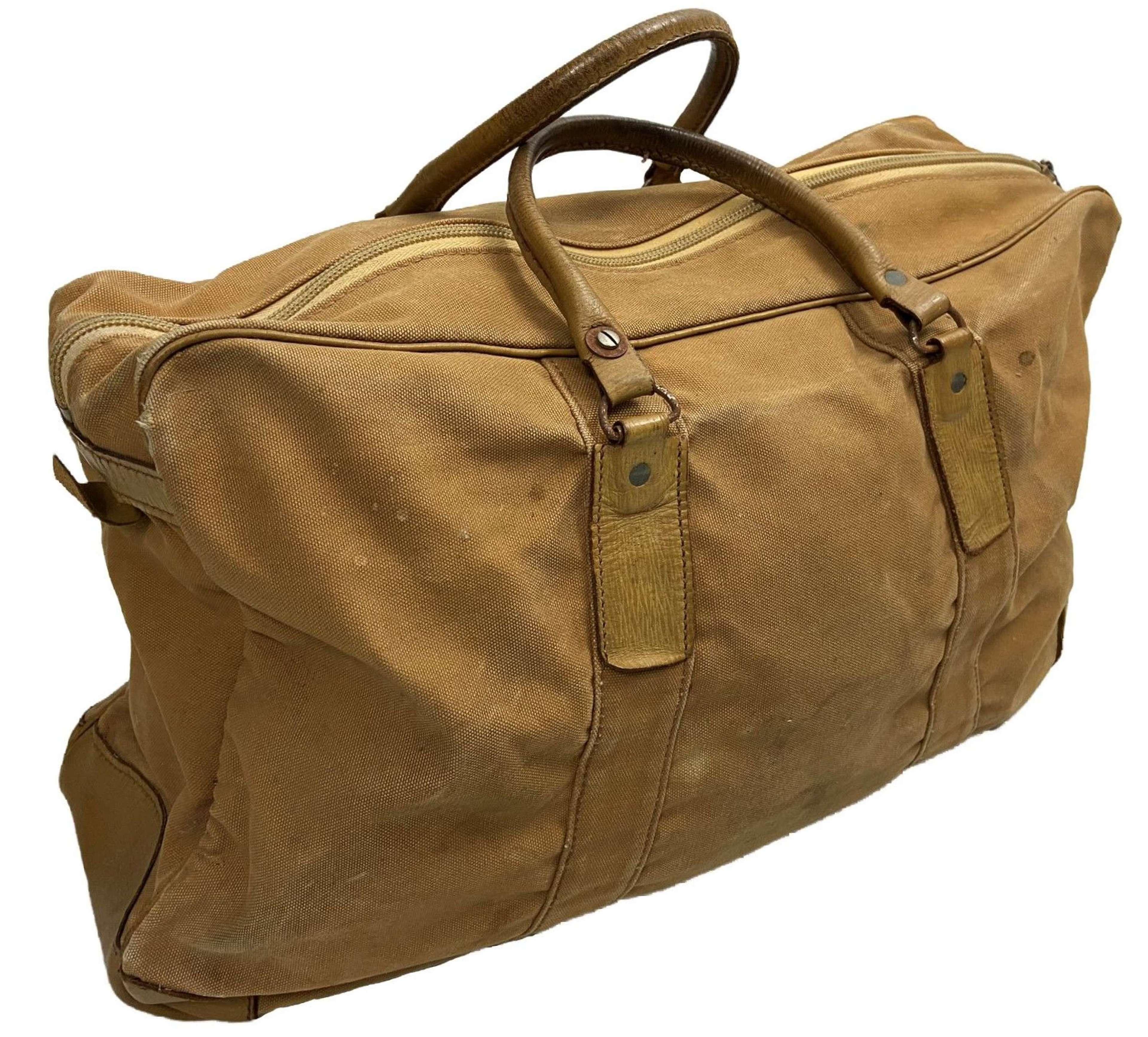 Original British Officers Holdall Grip Bag - Opti Zipper