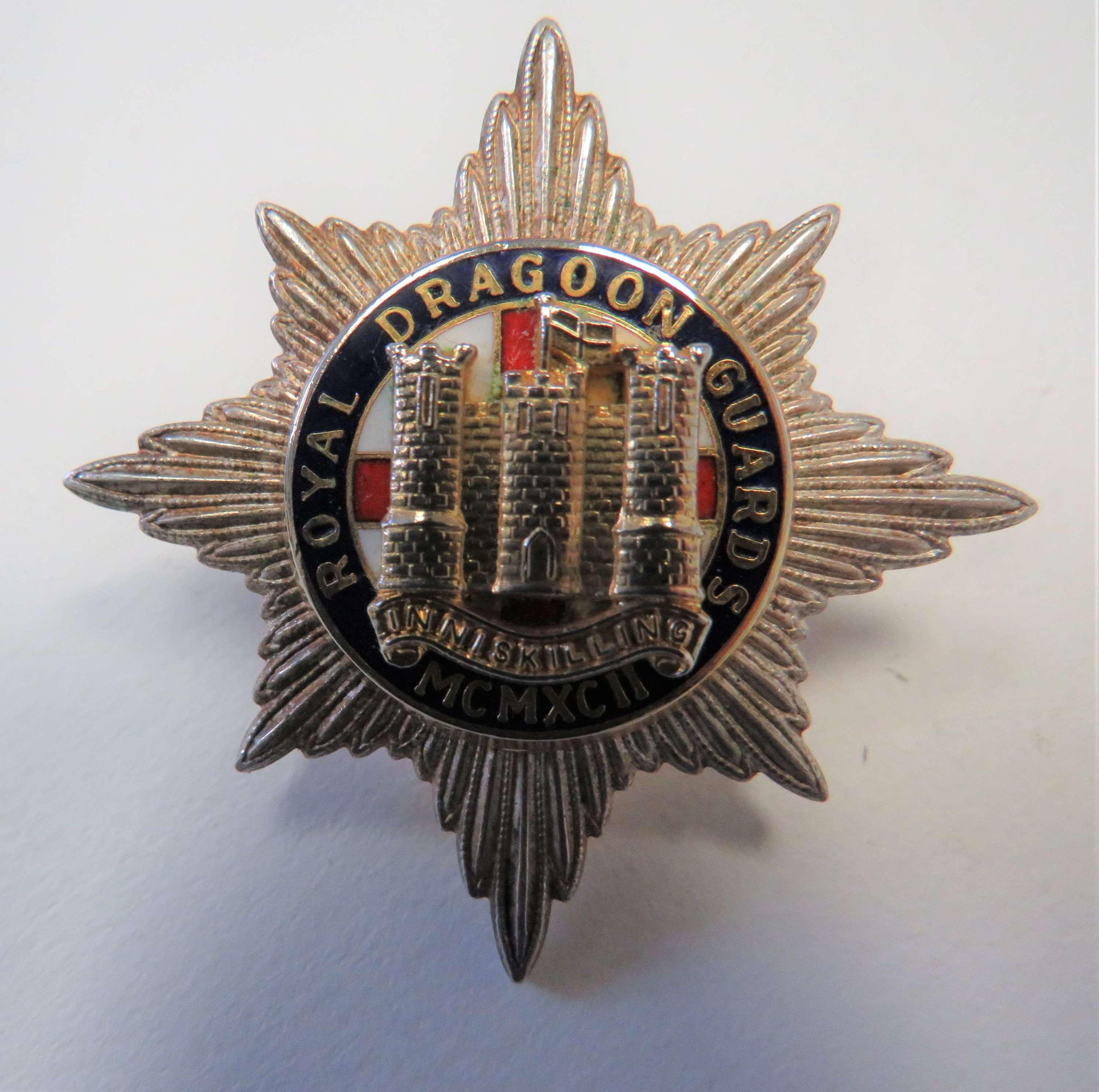 Royal Dragoon Guards Cap Badge